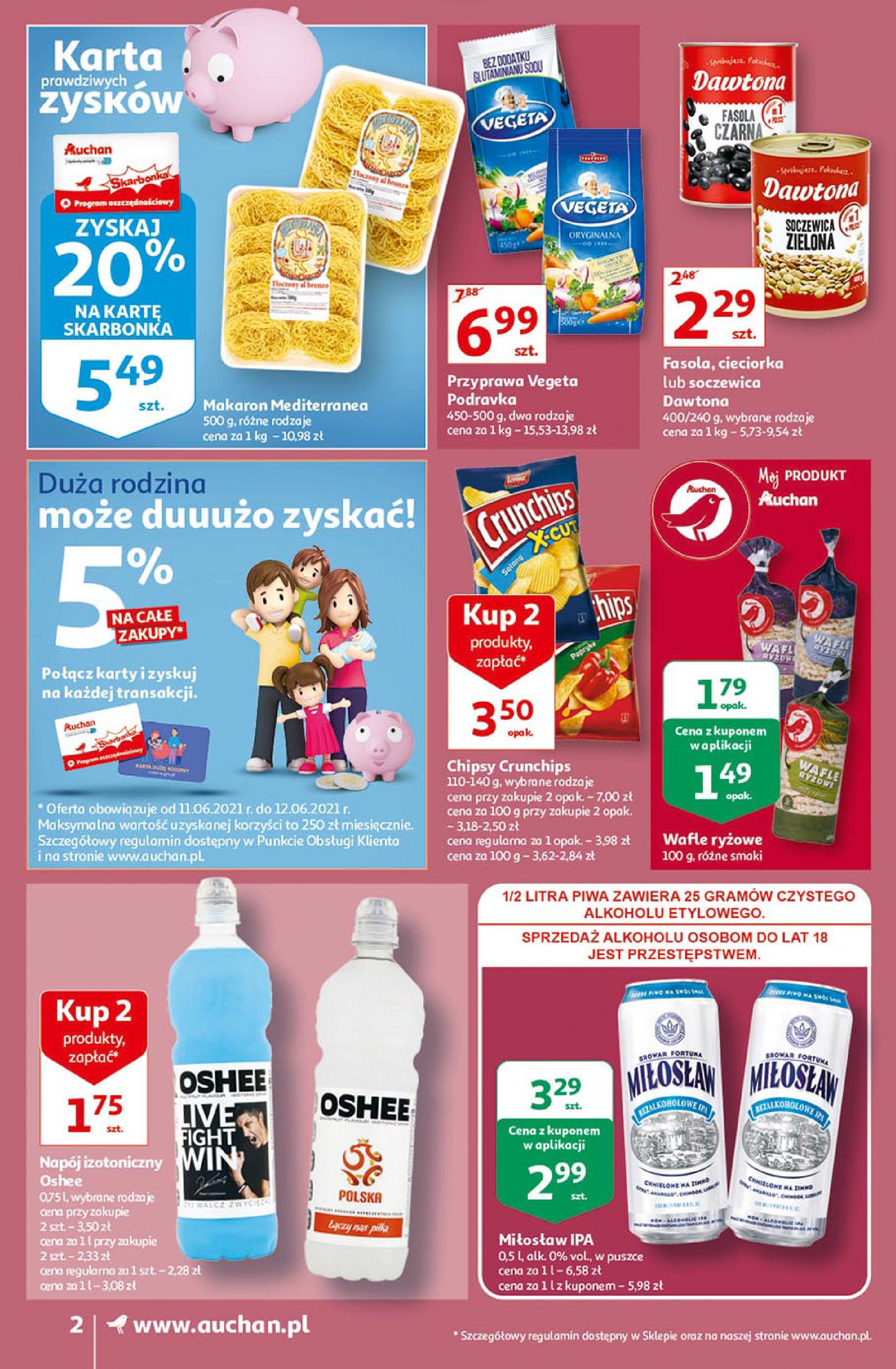 Gazetka Auchan: Gazetka Auchan Supermarket 2021-06-10 page-2