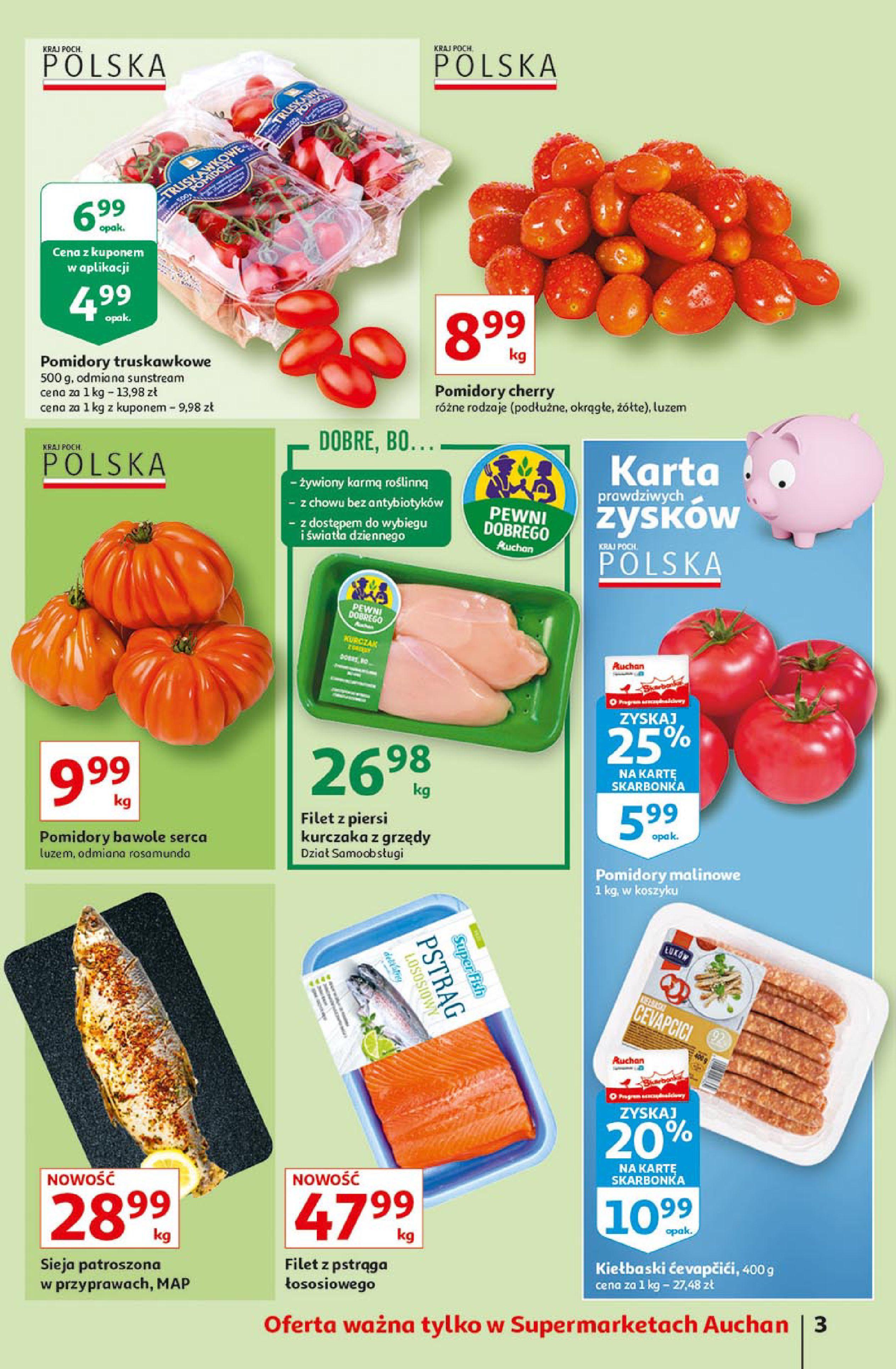 Gazetka Auchan: Gazetka Auchan Supermarket 2021-06-10 page-3