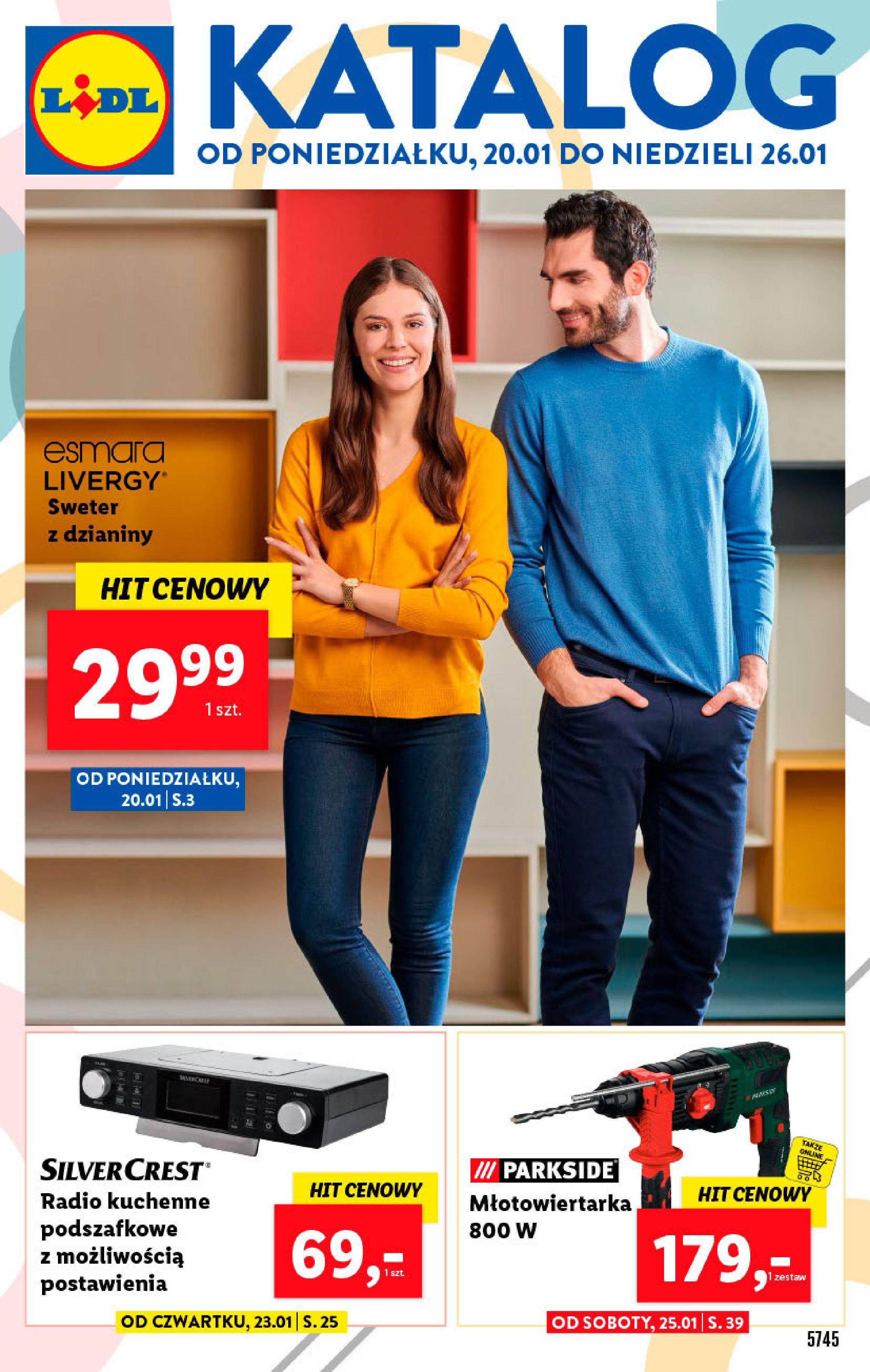 Gazetka Lidl - Katalog od poniedziałku-19.01.2020-26.01.2020-page-1