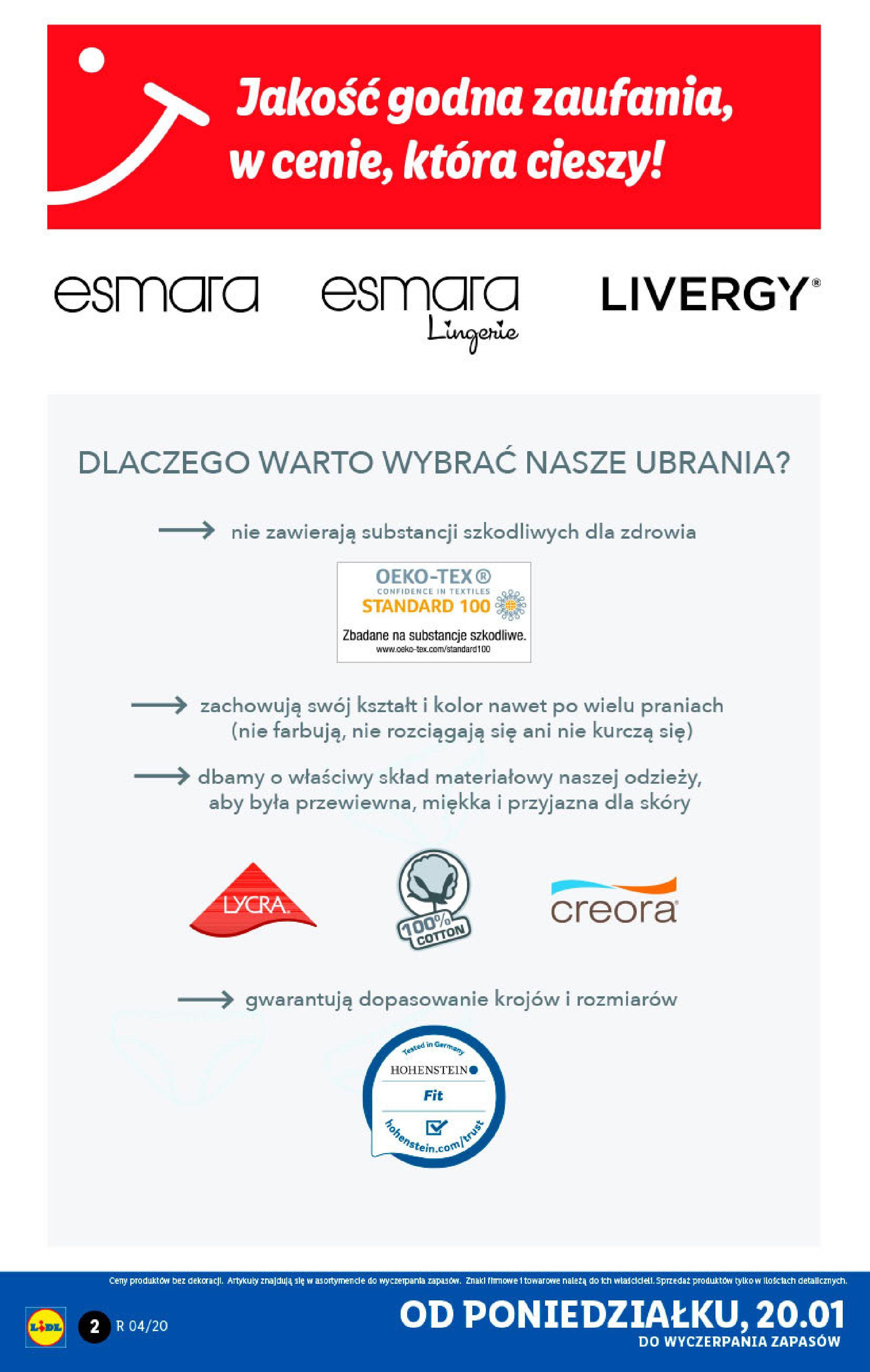 Gazetka Lidl - Katalog od poniedziałku-19.01.2020-26.01.2020-page-2