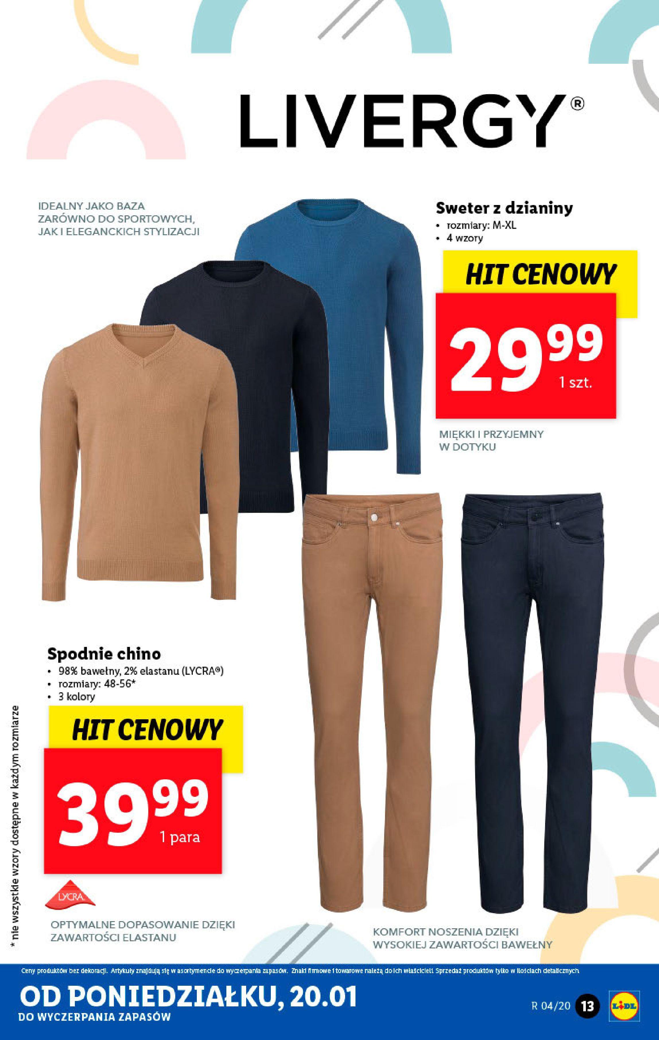Gazetka Lidl - Katalog od poniedziałku-19.01.2020-26.01.2020-page-13