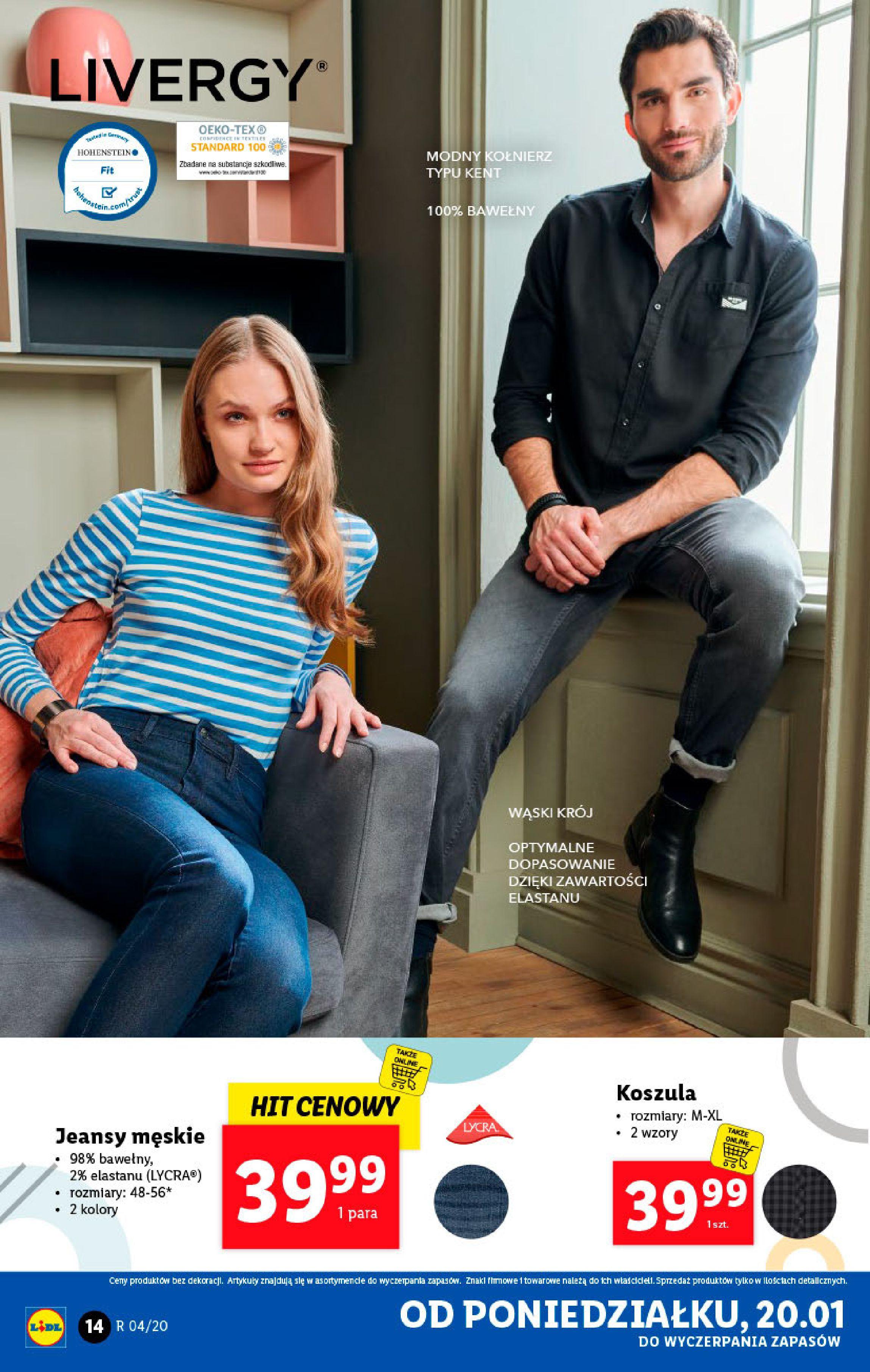Gazetka Lidl - Katalog od poniedziałku-19.01.2020-26.01.2020-page-14