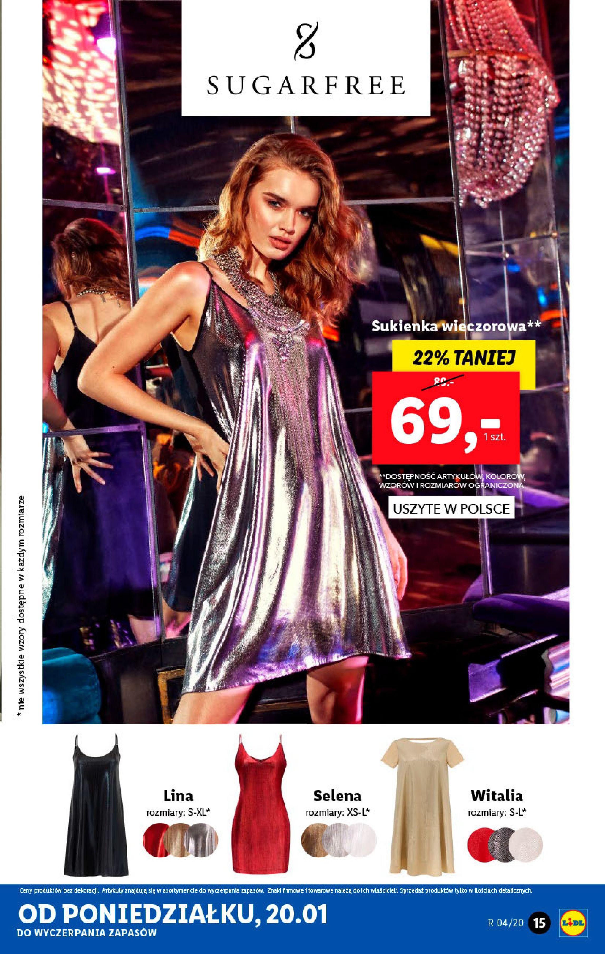 Gazetka Lidl - Katalog od poniedziałku-19.01.2020-26.01.2020-page-15
