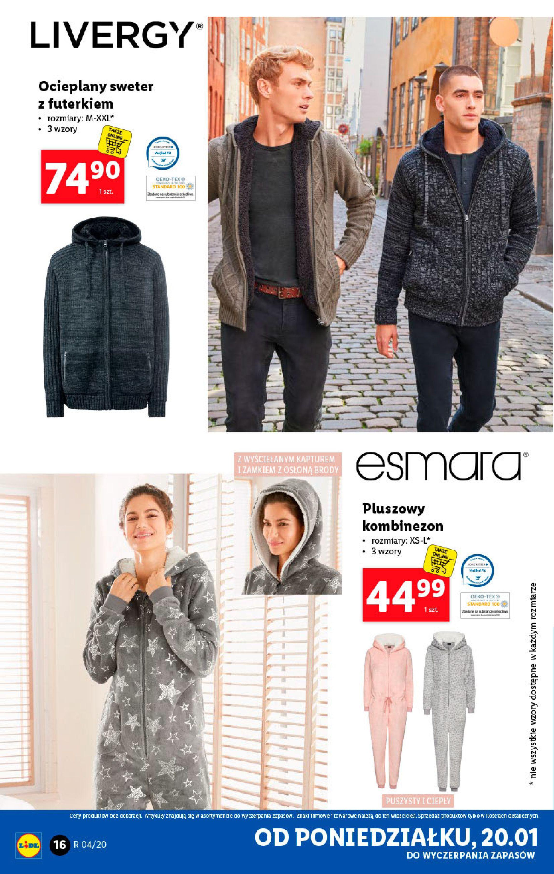 Gazetka Lidl - Katalog od poniedziałku-19.01.2020-26.01.2020-page-16