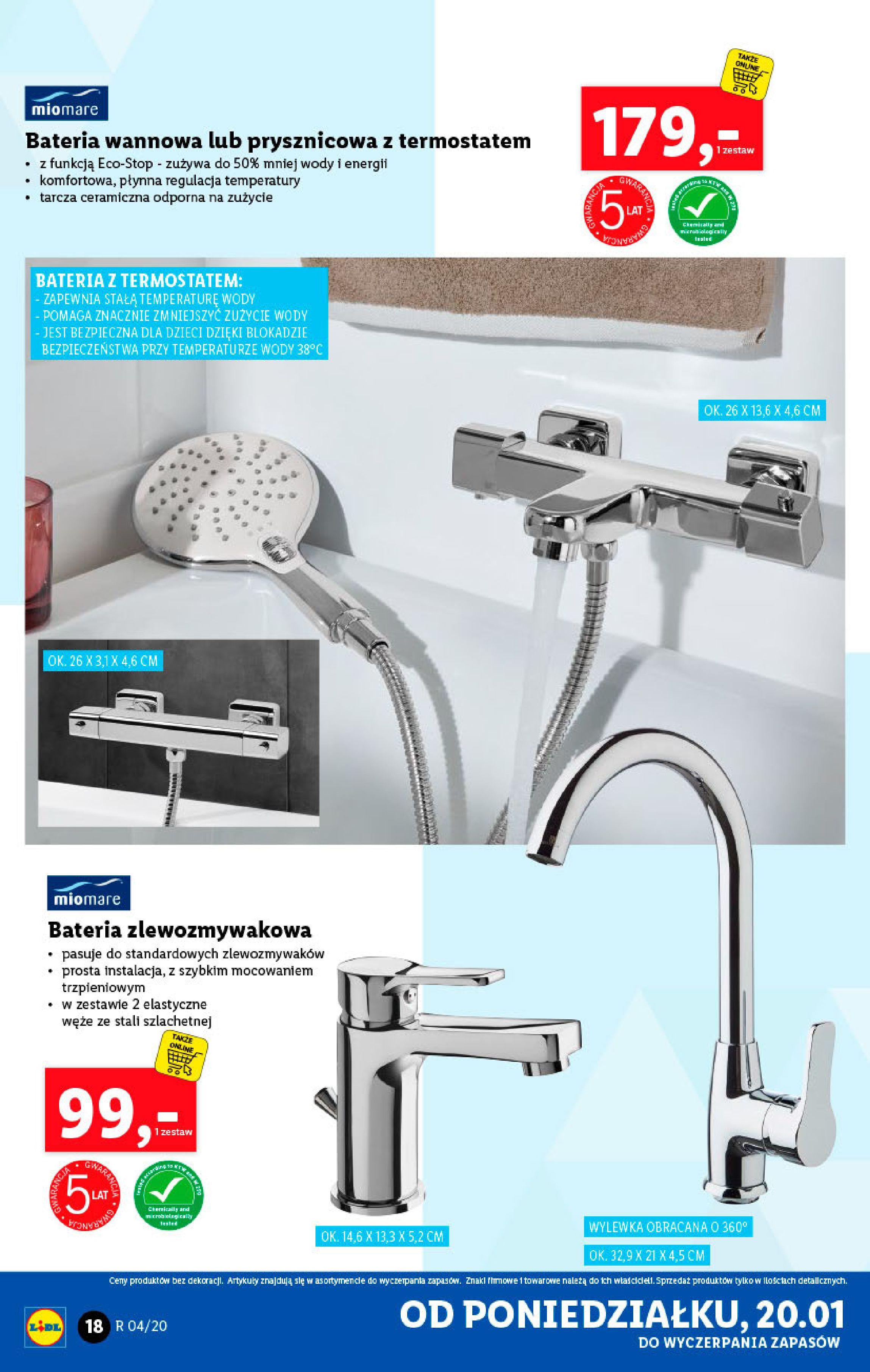 Gazetka Lidl - Katalog od poniedziałku-19.01.2020-26.01.2020-page-18