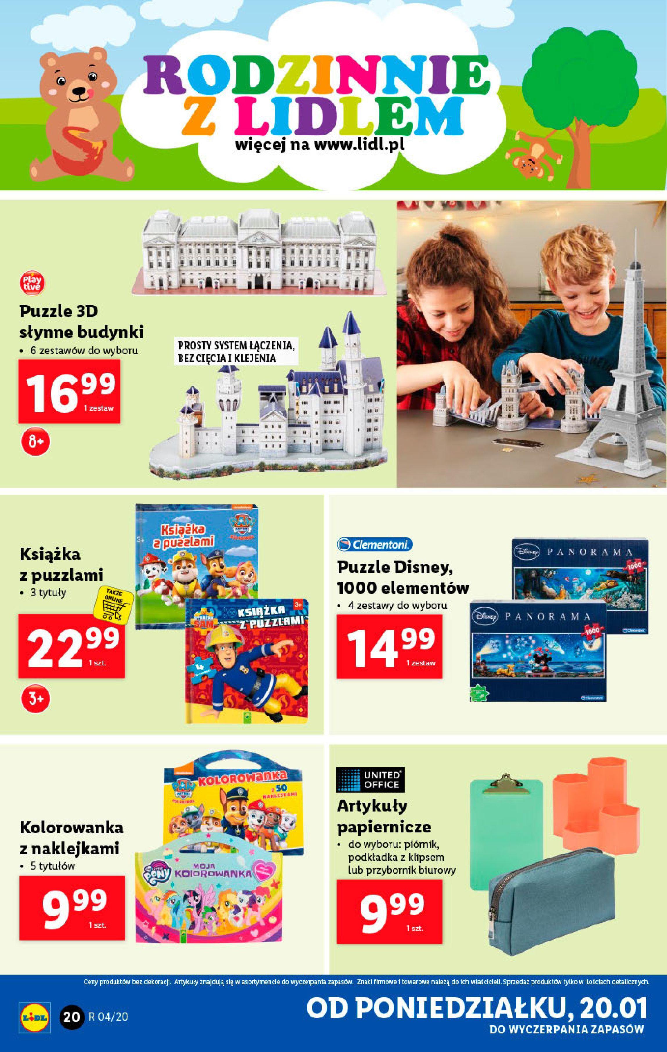 Gazetka Lidl - Katalog od poniedziałku-19.01.2020-26.01.2020-page-20