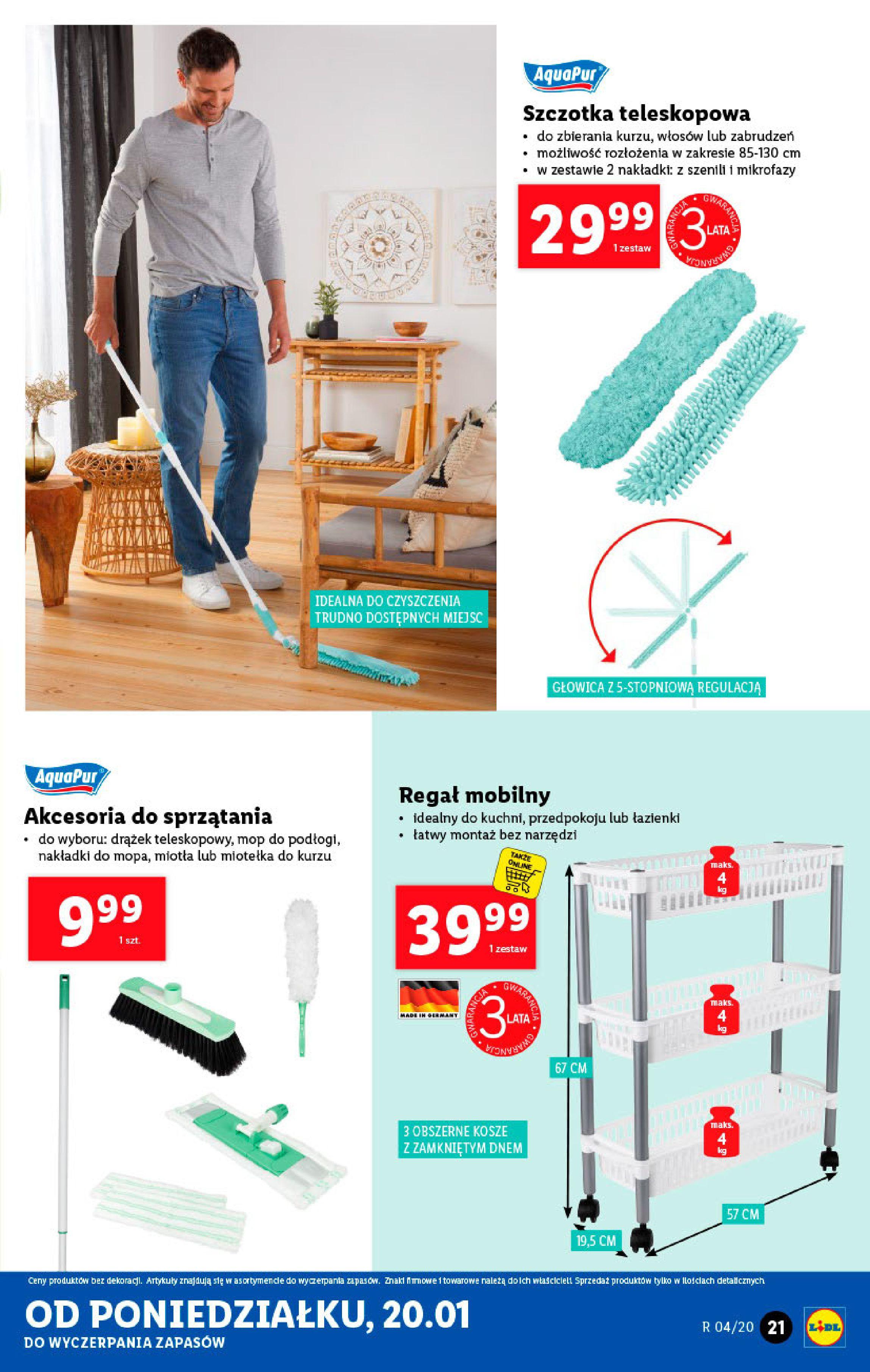 Gazetka Lidl - Katalog od poniedziałku-19.01.2020-26.01.2020-page-21