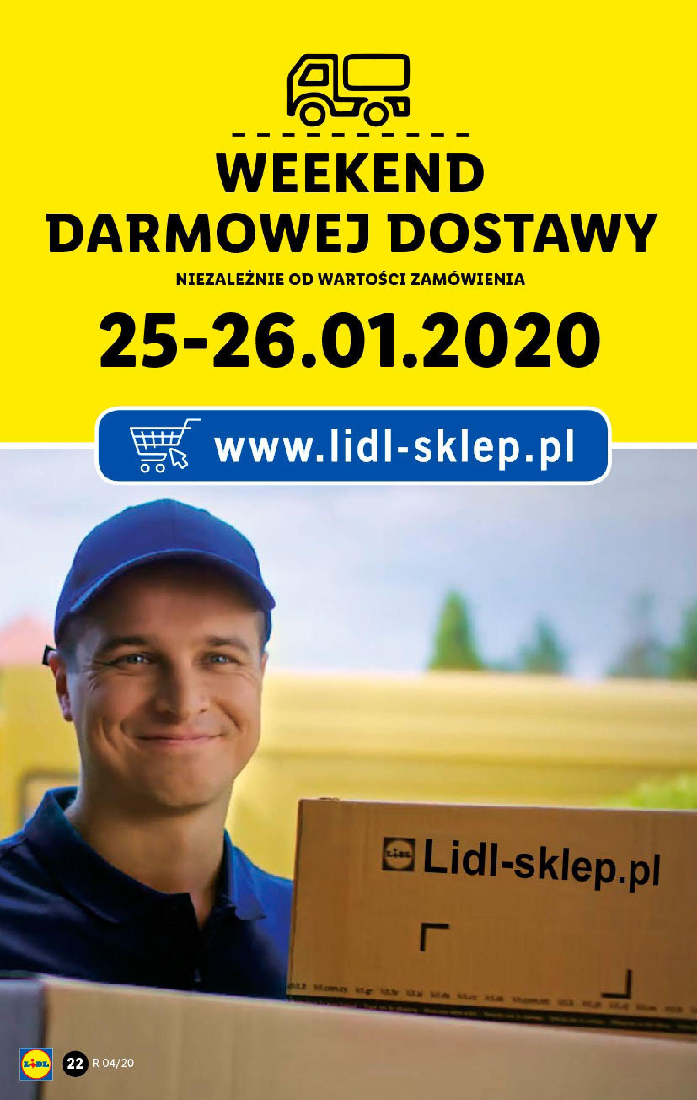 Gazetka Lidl - Katalog od poniedziałku-19.01.2020-26.01.2020-page-22