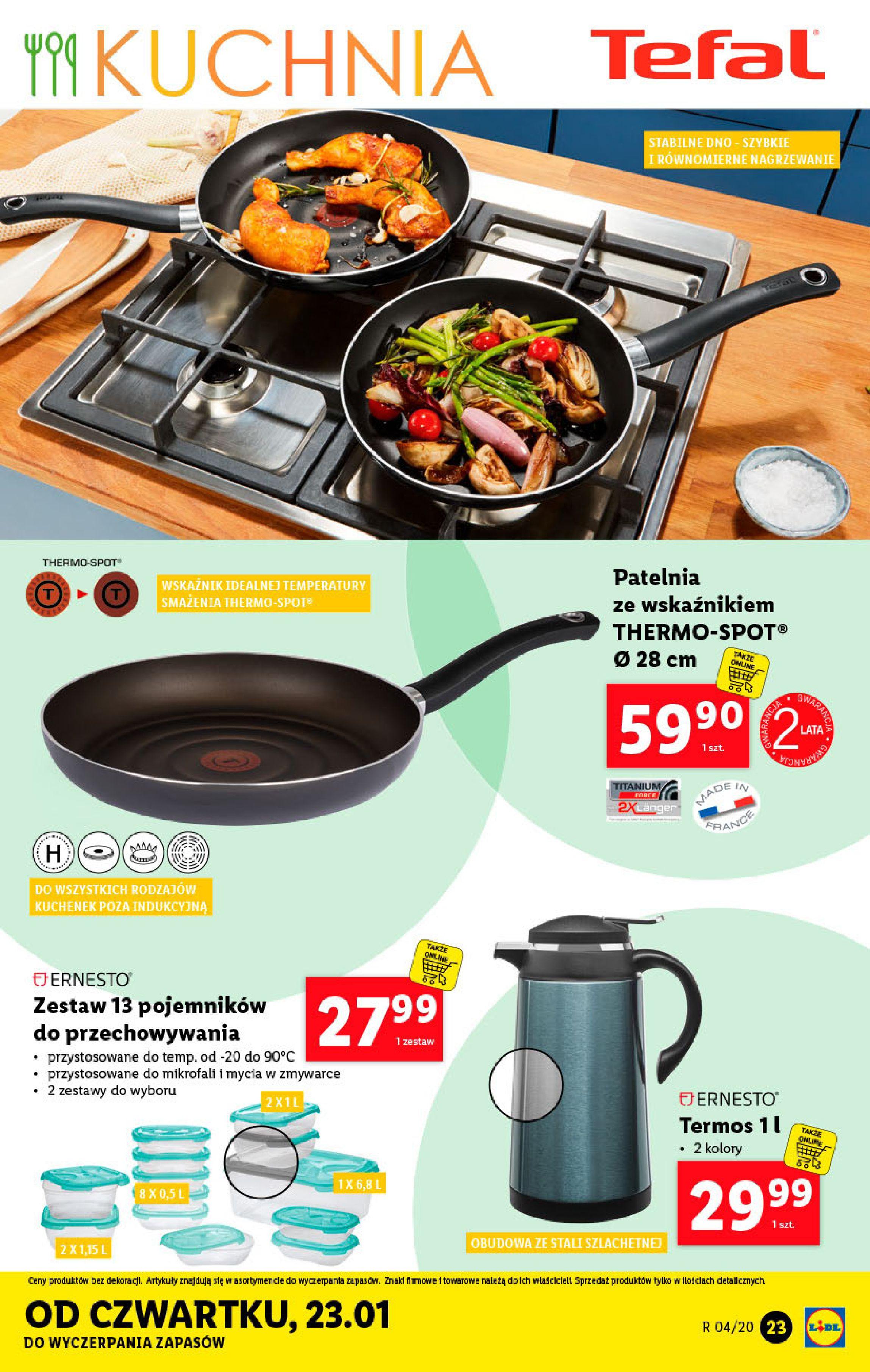 Gazetka Lidl - Katalog od poniedziałku-19.01.2020-26.01.2020-page-23