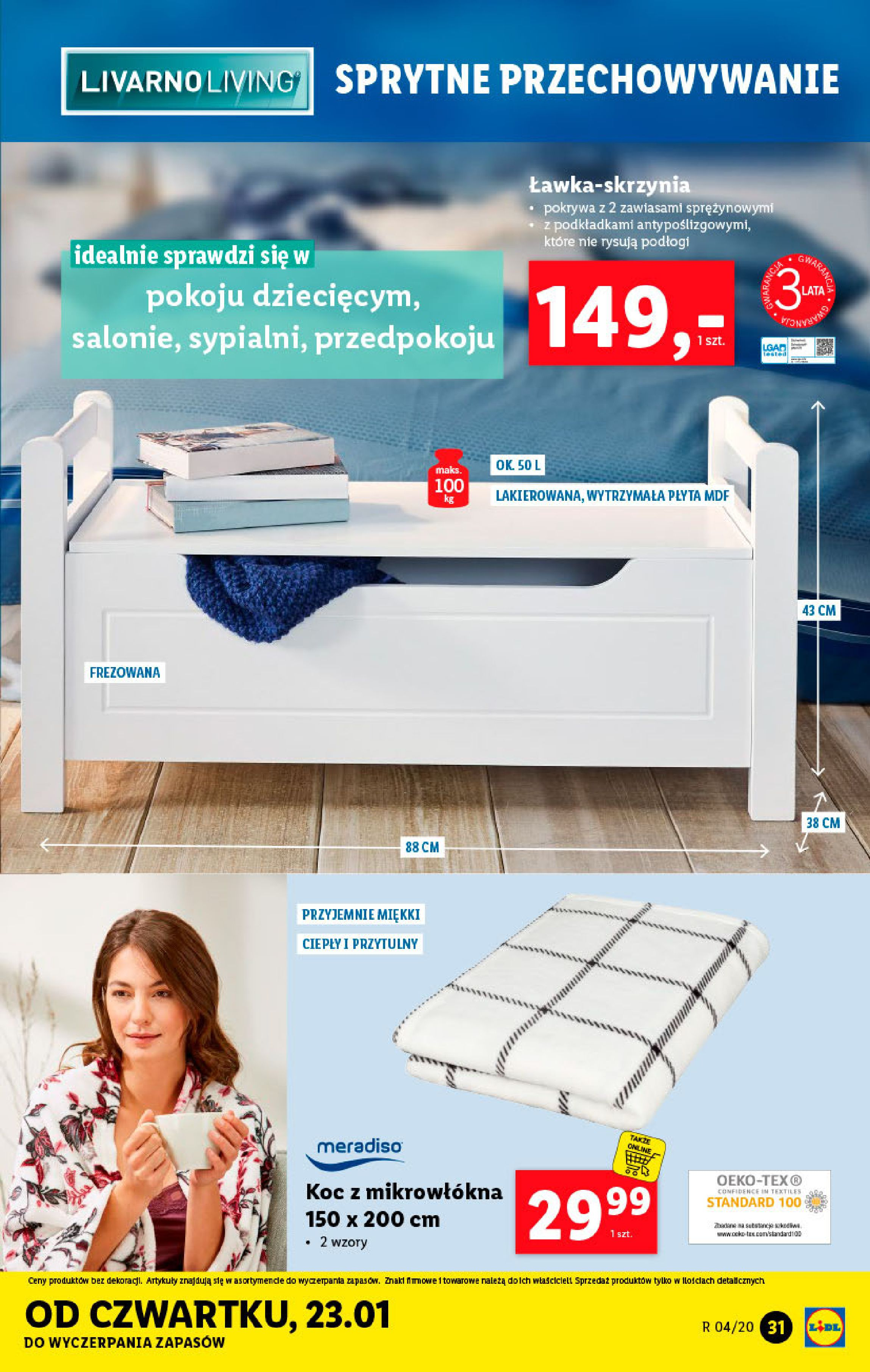 Gazetka Lidl - Katalog od poniedziałku-19.01.2020-26.01.2020-page-31