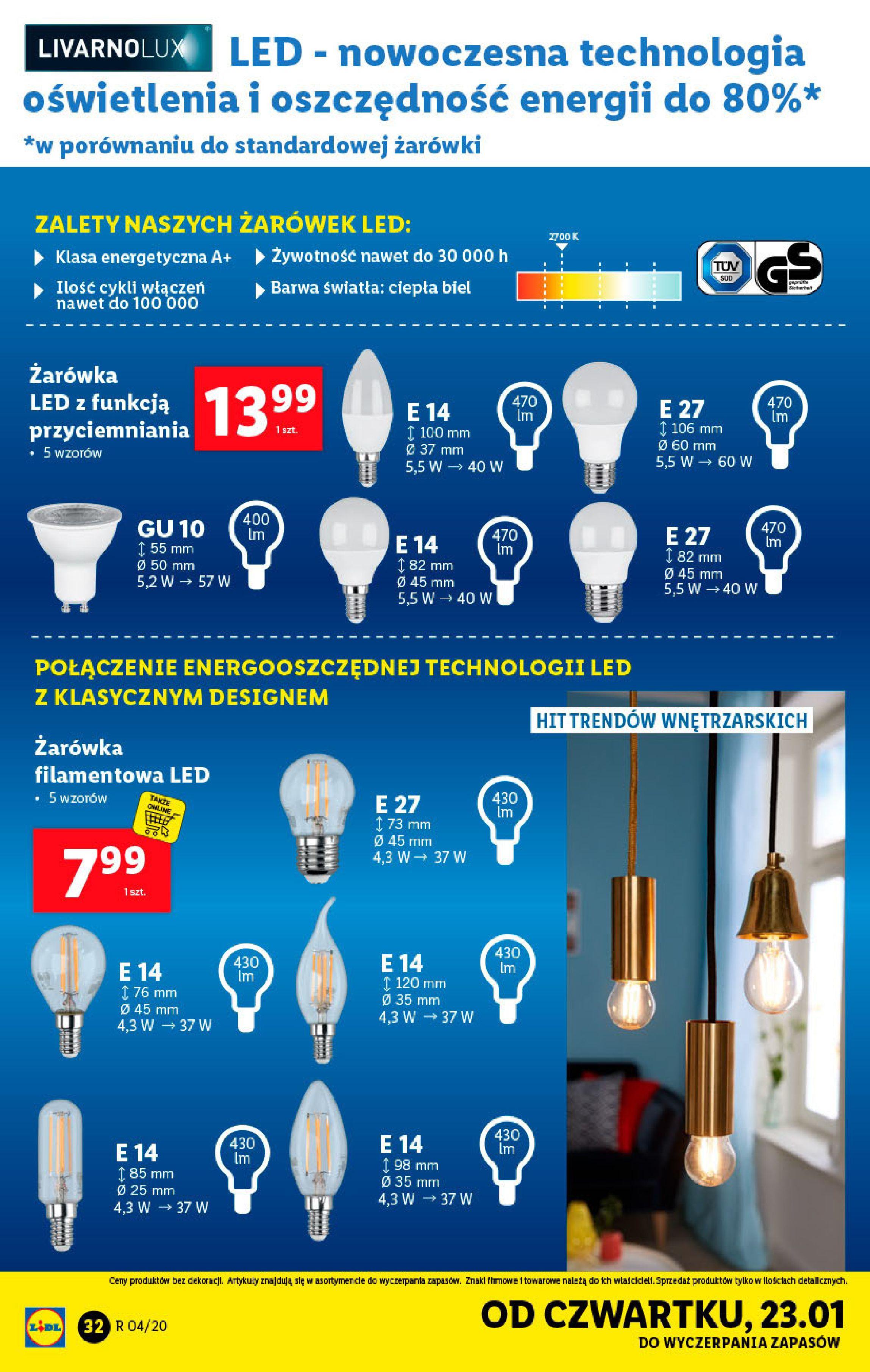 Gazetka Lidl - Katalog od poniedziałku-19.01.2020-26.01.2020-page-32