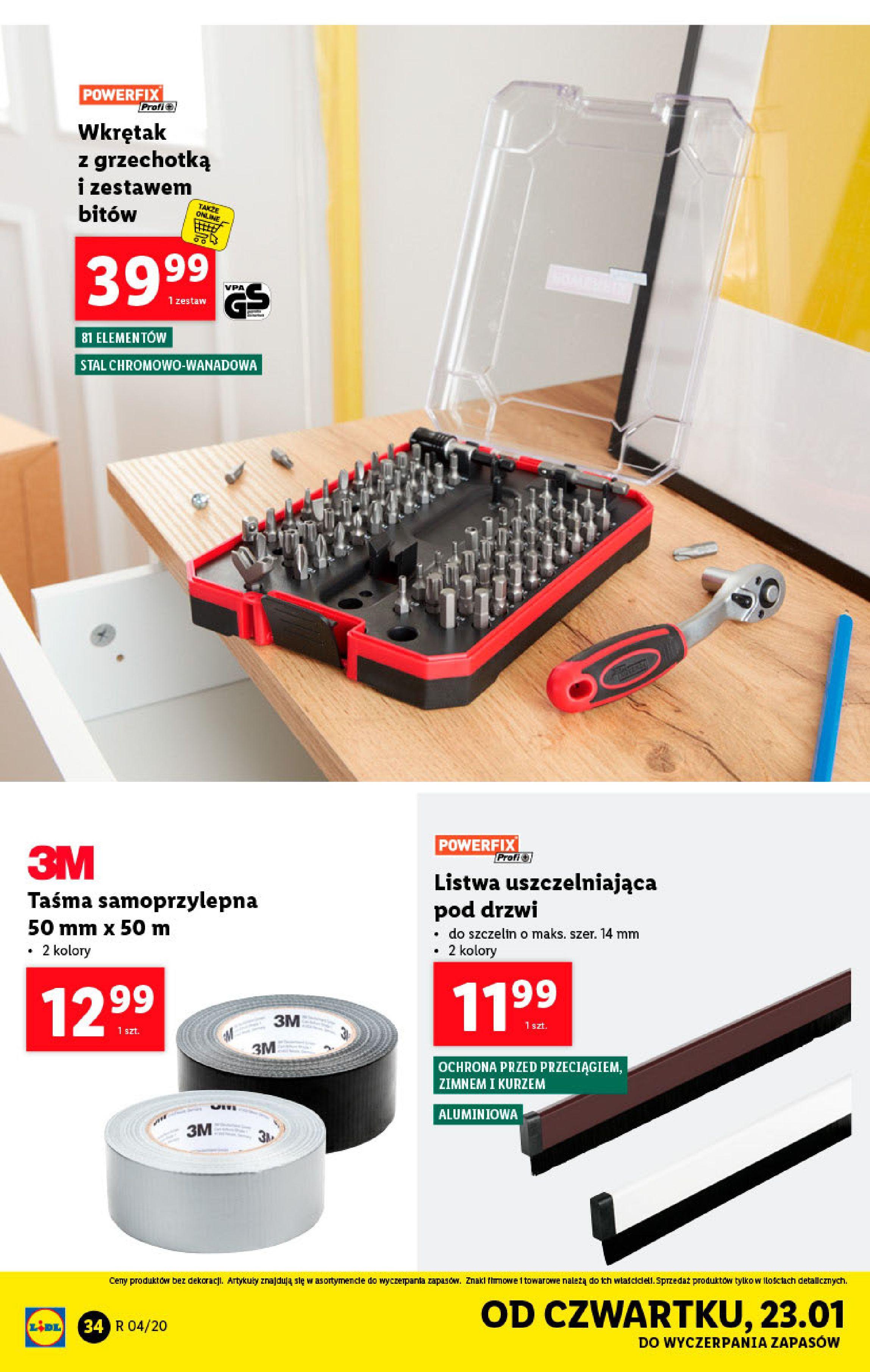 Gazetka Lidl - Katalog od poniedziałku-19.01.2020-26.01.2020-page-34