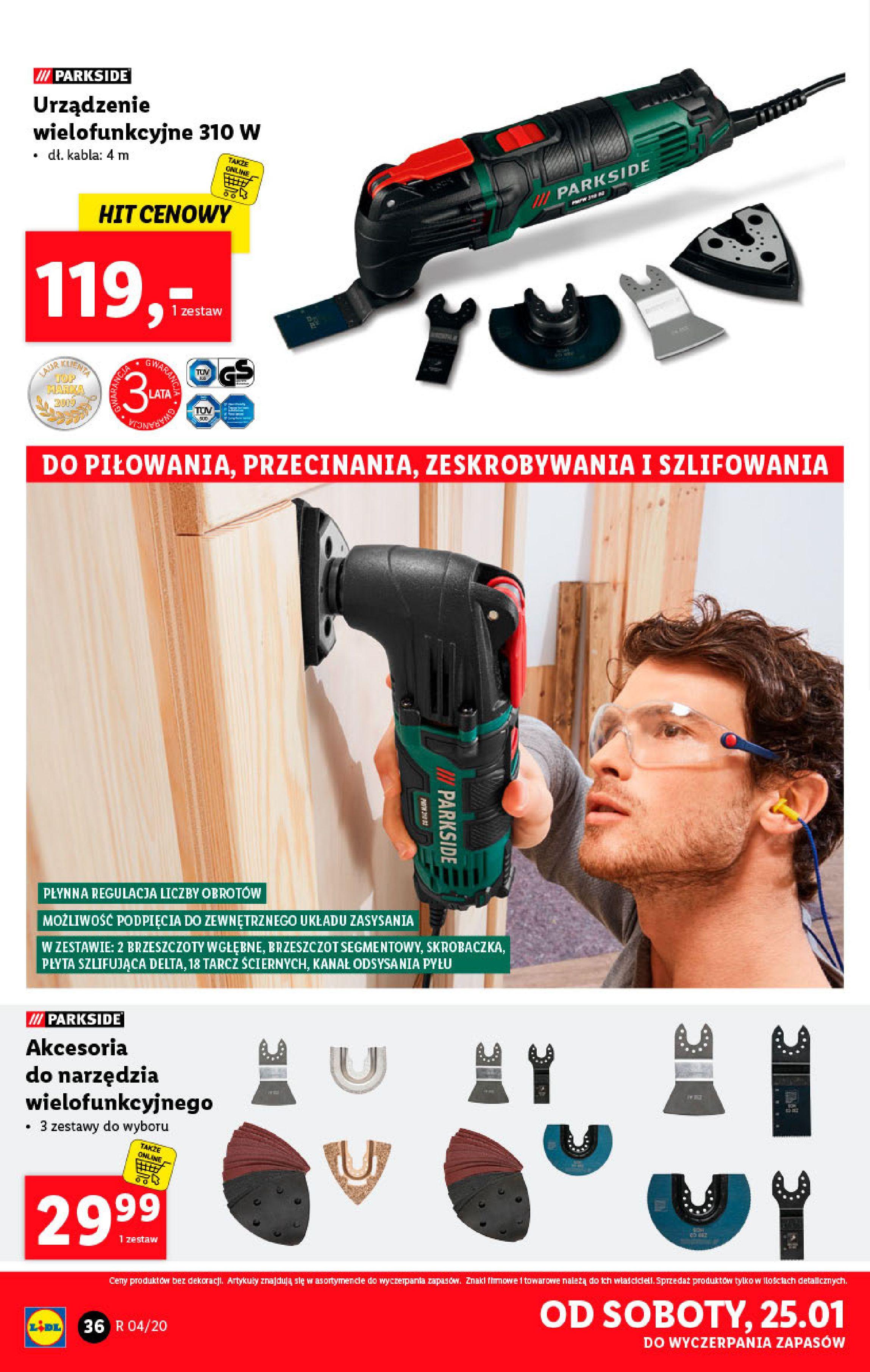 Gazetka Lidl - Katalog od poniedziałku-19.01.2020-26.01.2020-page-36