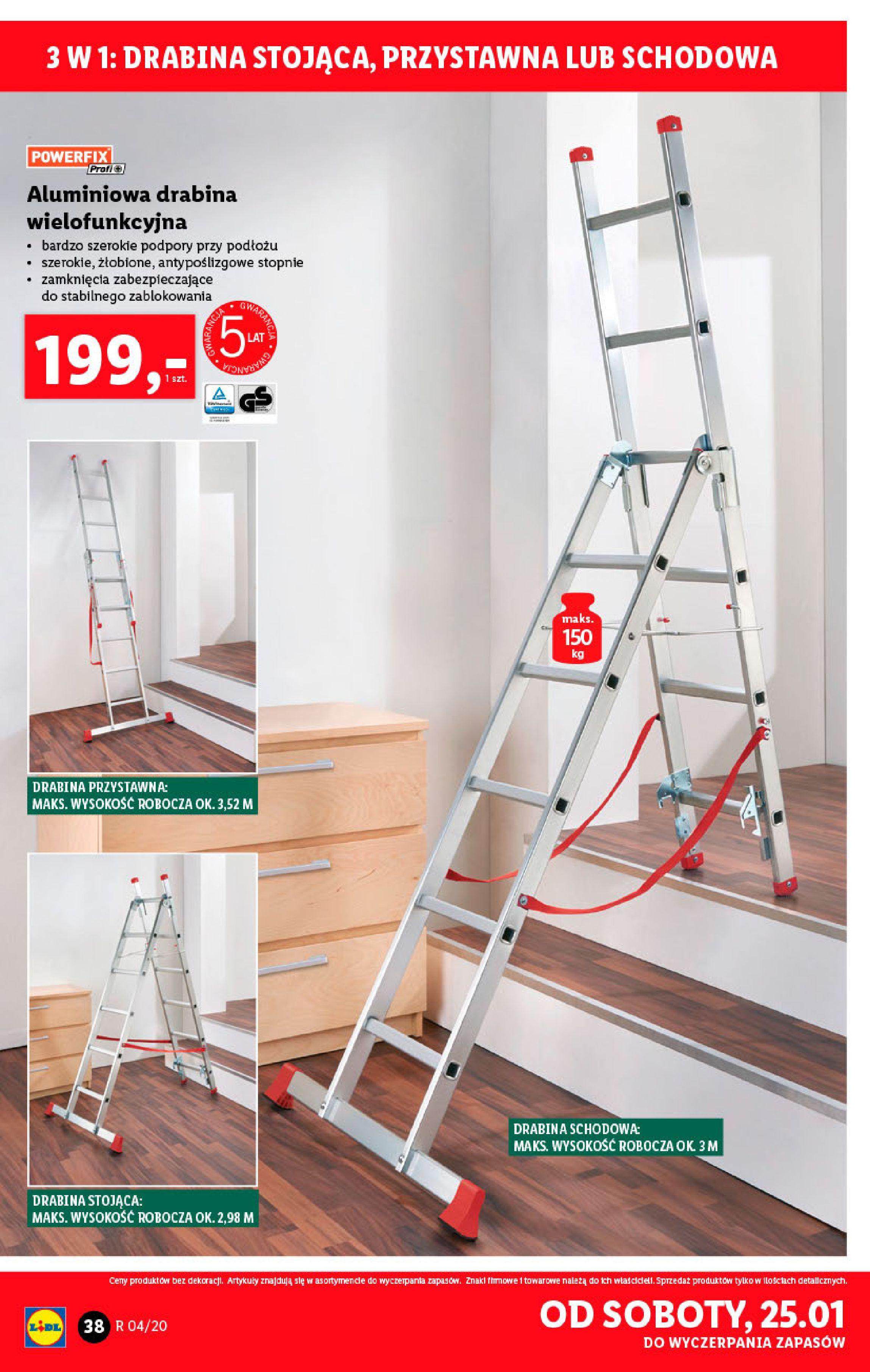 Gazetka Lidl - Katalog od poniedziałku-19.01.2020-26.01.2020-page-38