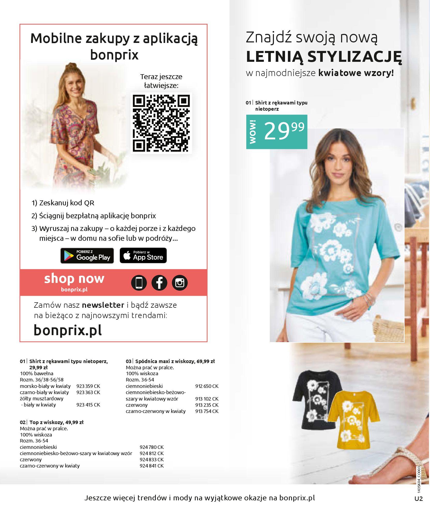 Gazetka Bonprix: Bonprix - Stylowo Latem 2021-04-29 page-2
