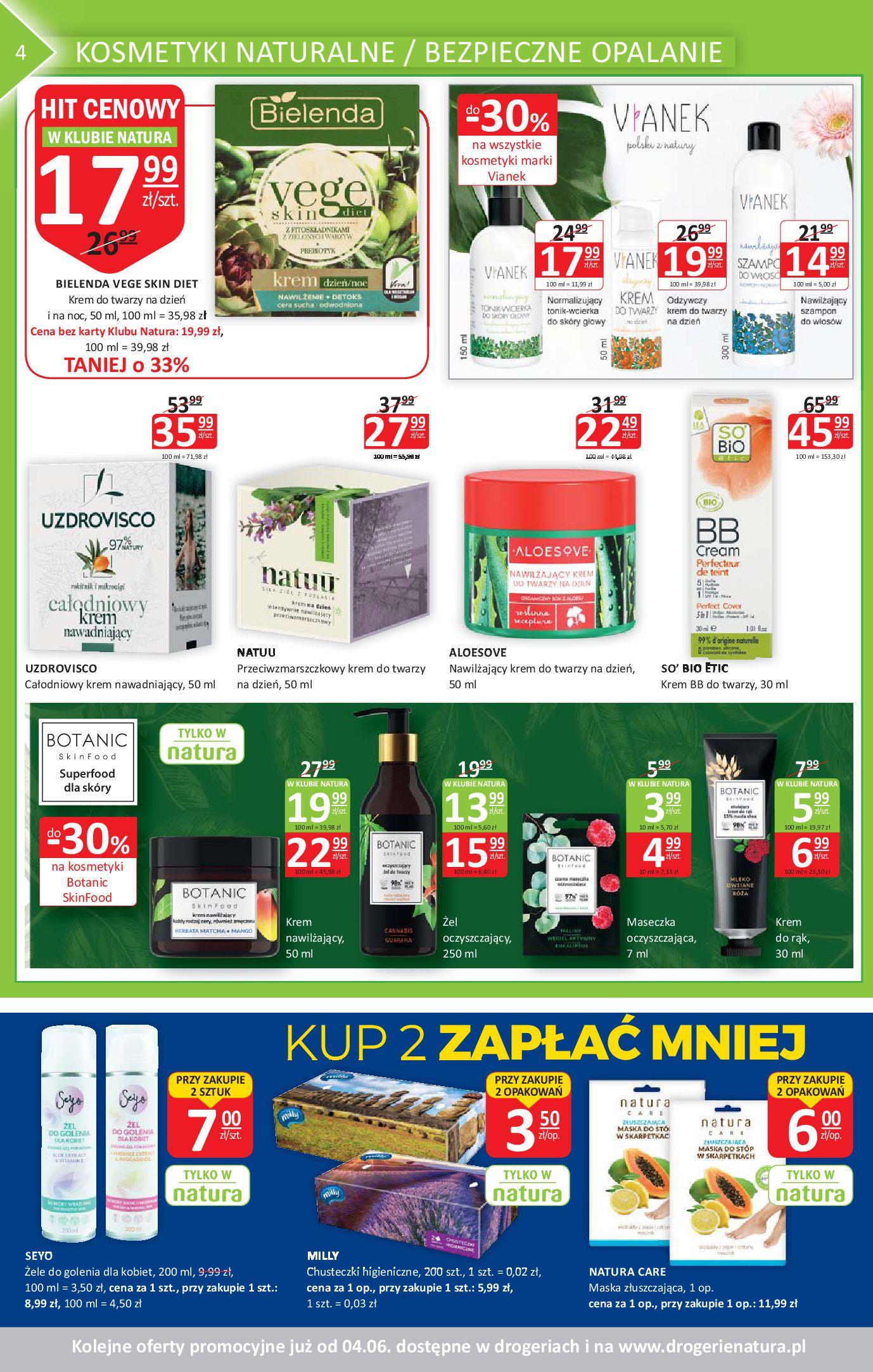 Gazetka Drogerie Natura - Gazetka promocyjna-20.05.2020-03.06.2020-page-4