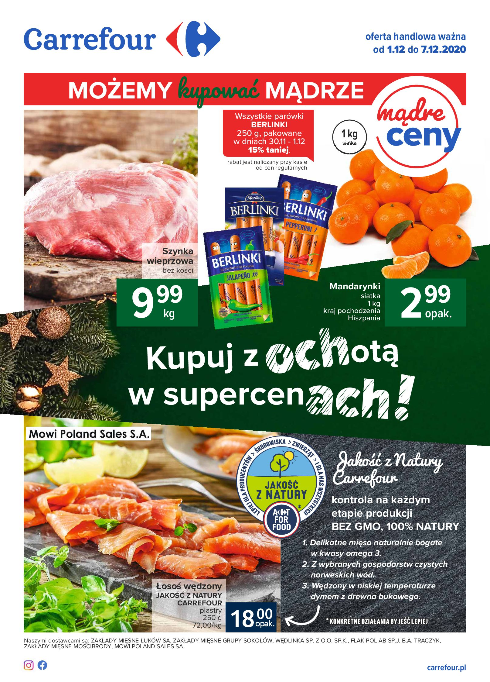 Carrefour:  Gazetka Carrefour od 01.12 30.11.2020