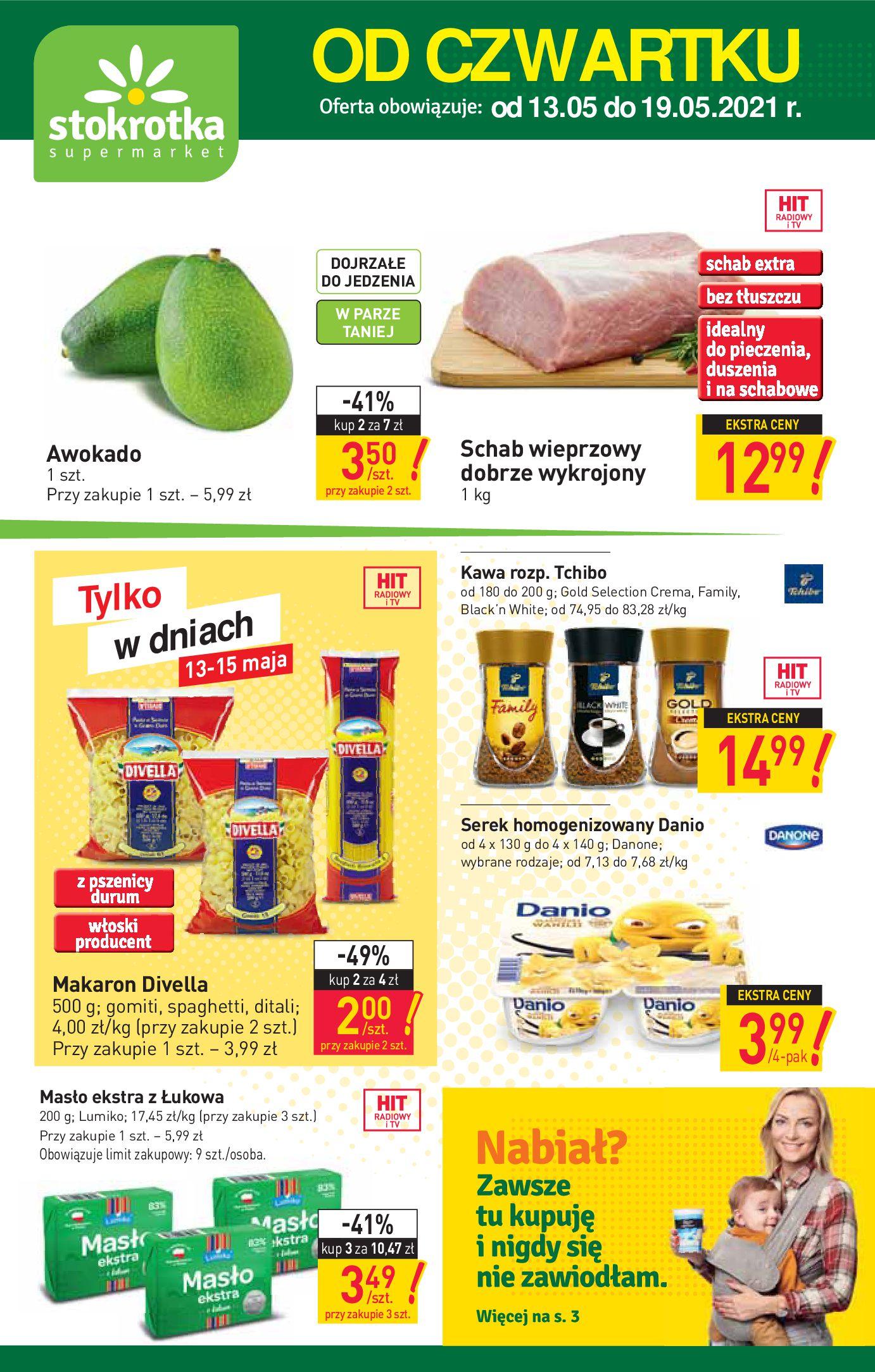 Stokrotka Supermarket:  Gazetka Stokrotka Supermarket - 13-19.05 12.05.2021
