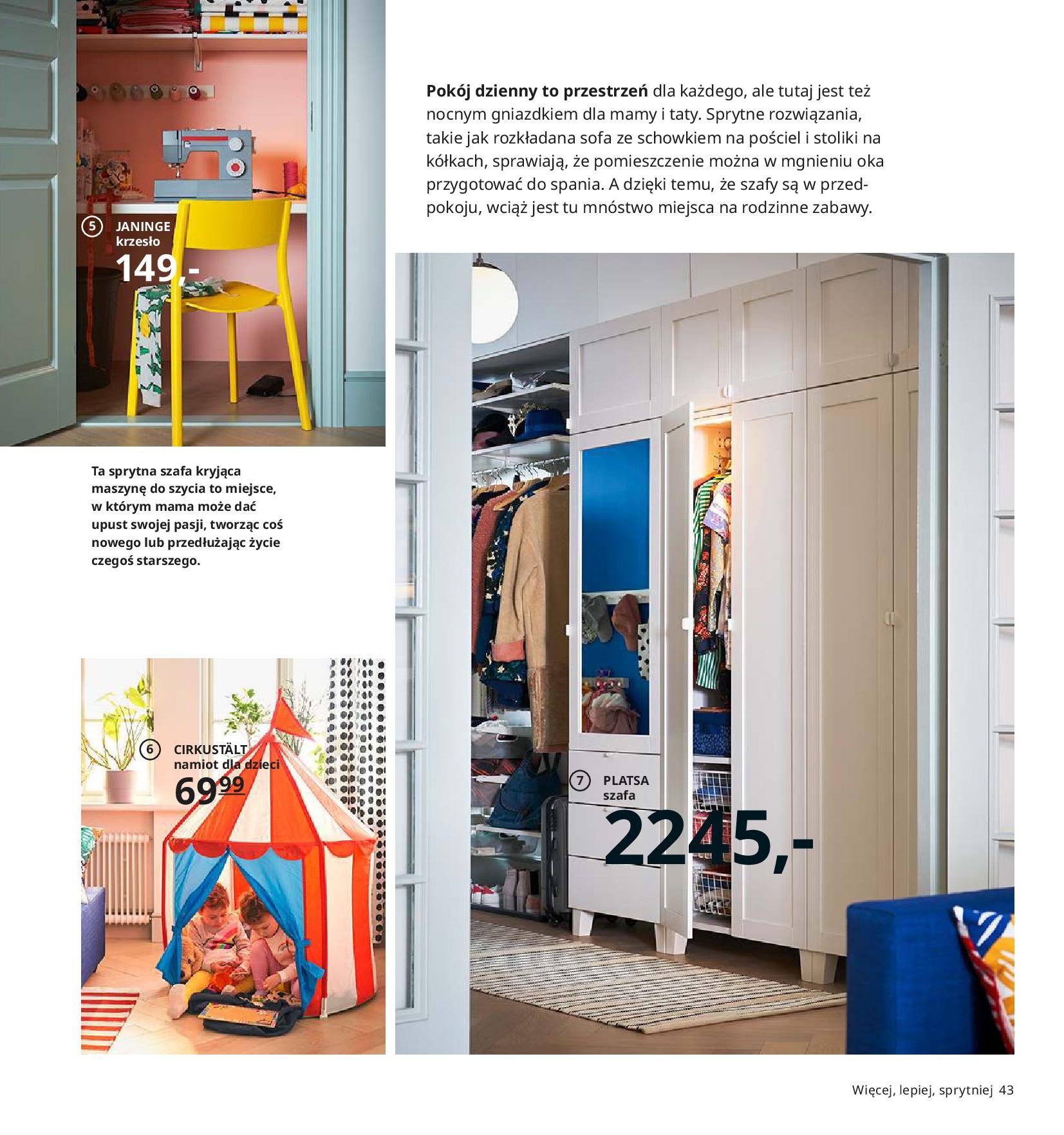 Gazetka IKEA - Katalog IKEA 2020-25.08.2019-31.07.2020-page-43