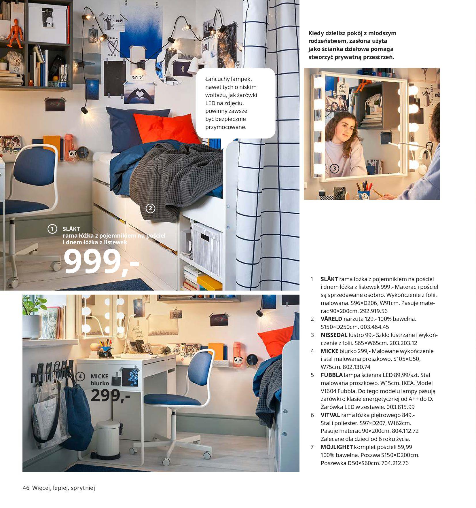 Gazetka IKEA - Katalog IKEA 2020-25.08.2019-31.07.2020-page-46