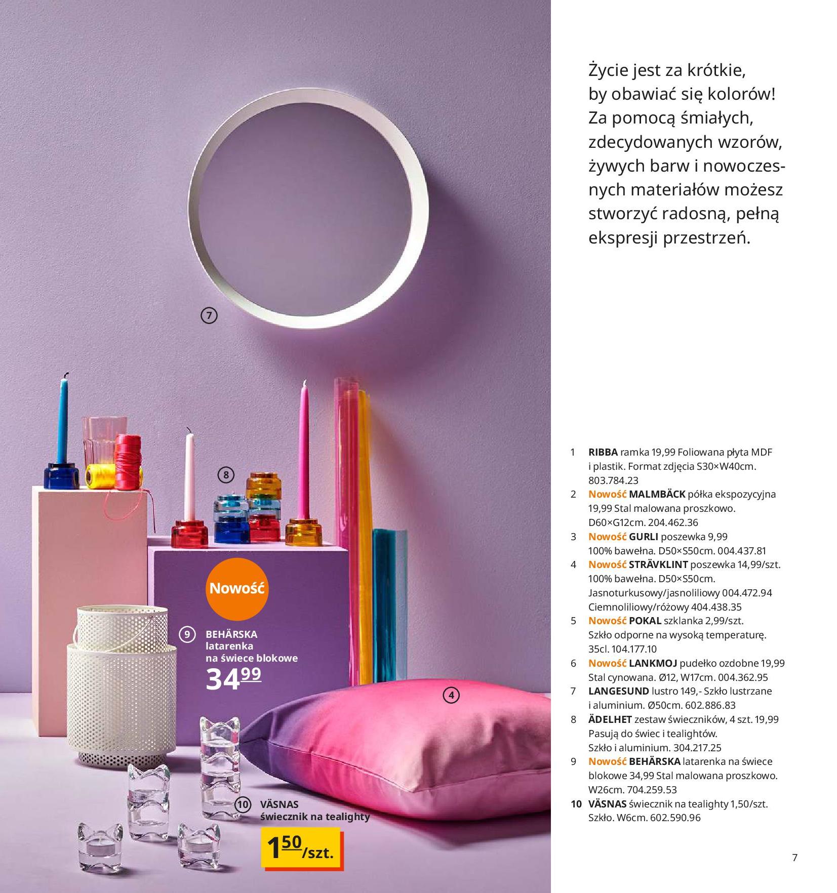 Gazetka IKEA - Katalog IKEA 2020-25.08.2019-31.07.2020-page-7