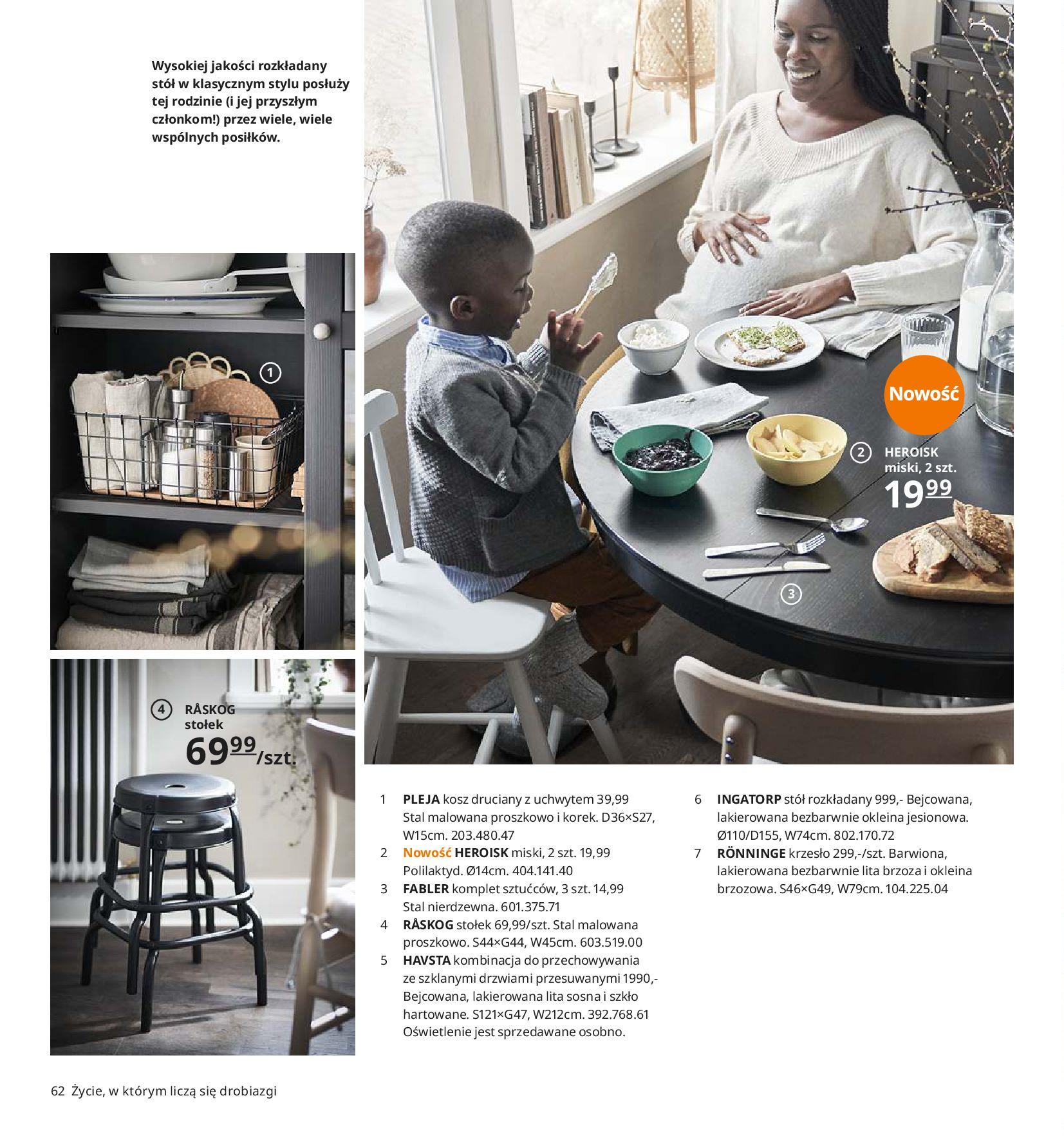 Gazetka IKEA - Katalog IKEA 2020-25.08.2019-31.07.2020-page-62