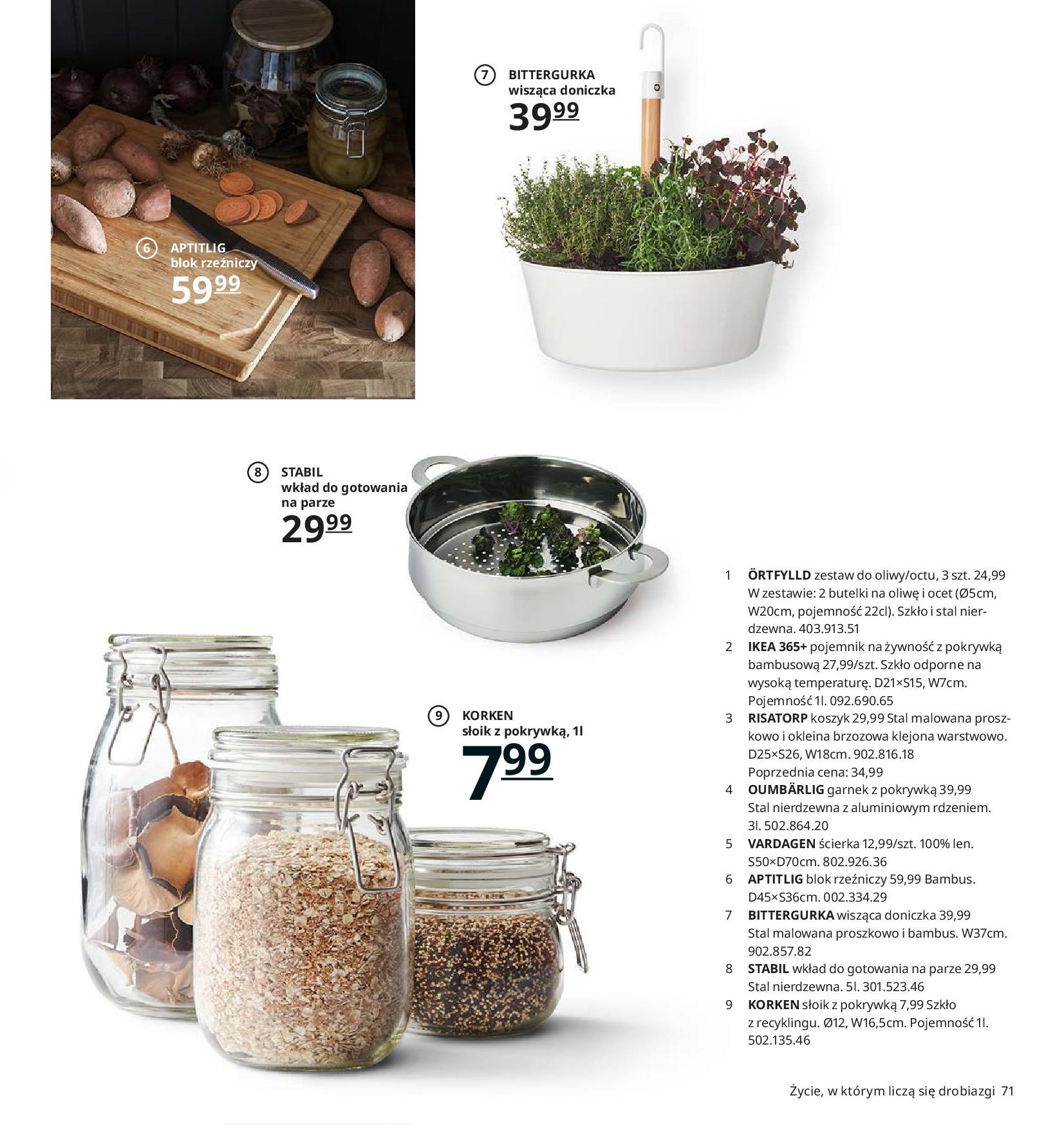Gazetka IKEA - Katalog IKEA 2020-25.08.2019-31.07.2020-page-71