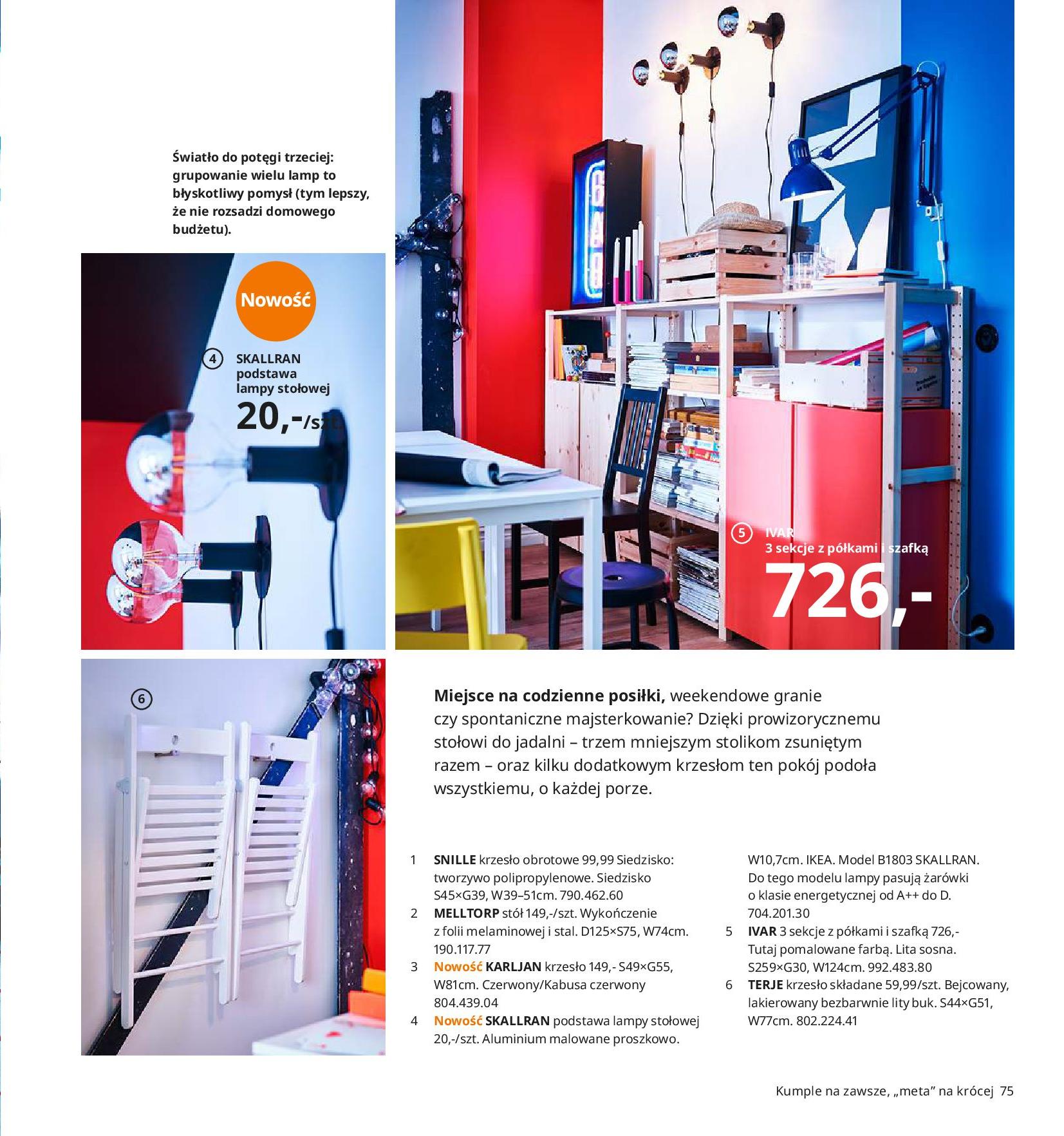 Gazetka IKEA - Katalog IKEA 2020-25.08.2019-31.07.2020-page-75