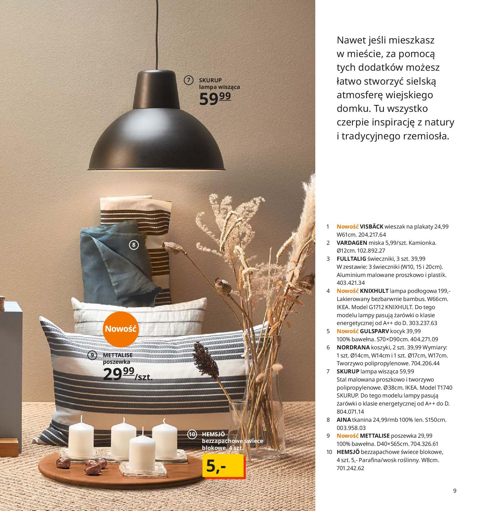 Gazetka IKEA - Katalog IKEA 2020-25.08.2019-31.07.2020-page-9