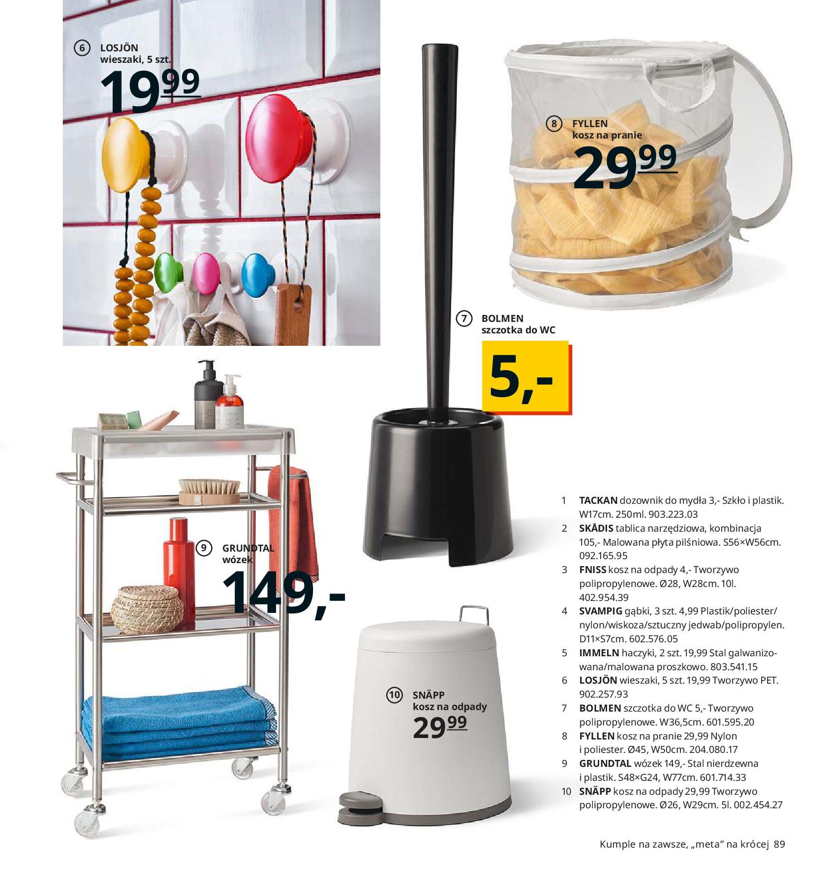 Gazetka IKEA - Katalog IKEA 2020-25.08.2019-31.07.2020-page-89