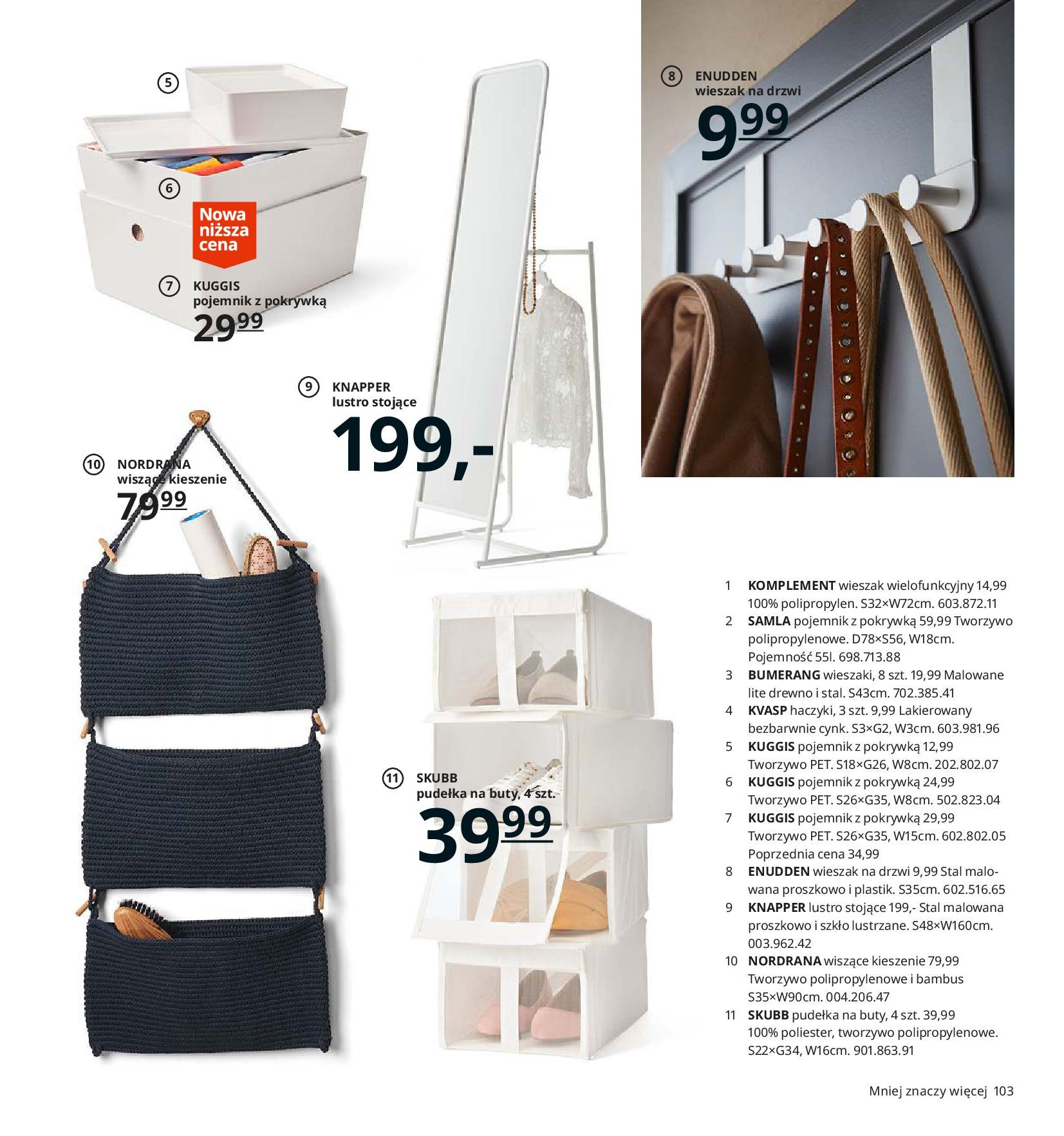 Gazetka IKEA - Katalog IKEA 2020-25.08.2019-31.07.2020-page-103