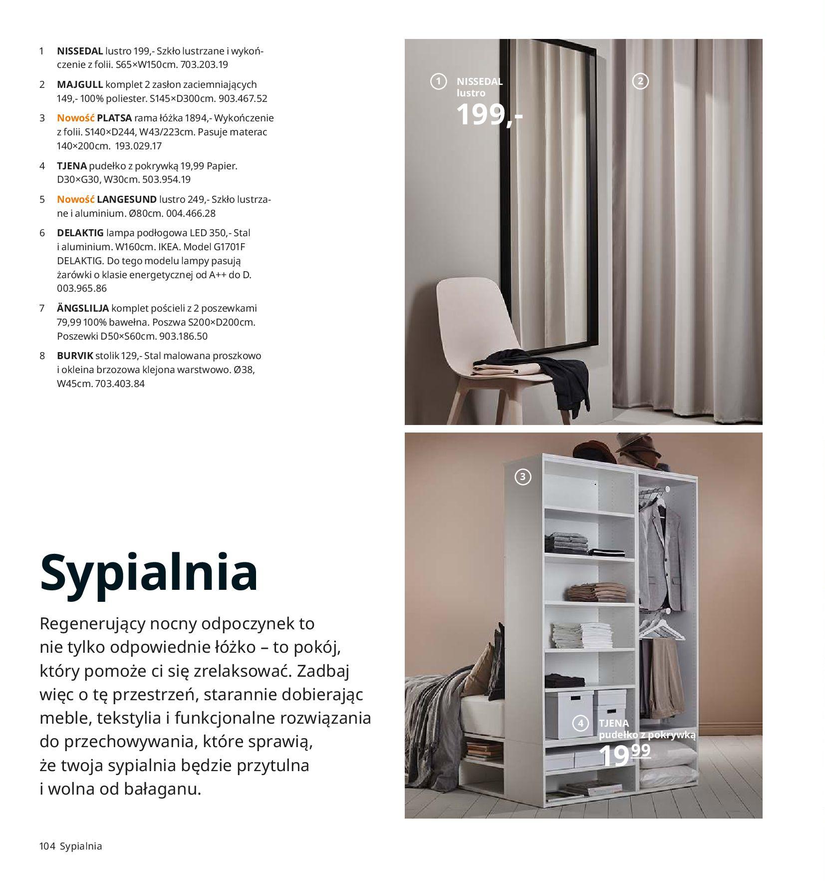 Gazetka IKEA - Katalog IKEA 2020-25.08.2019-31.07.2020-page-104