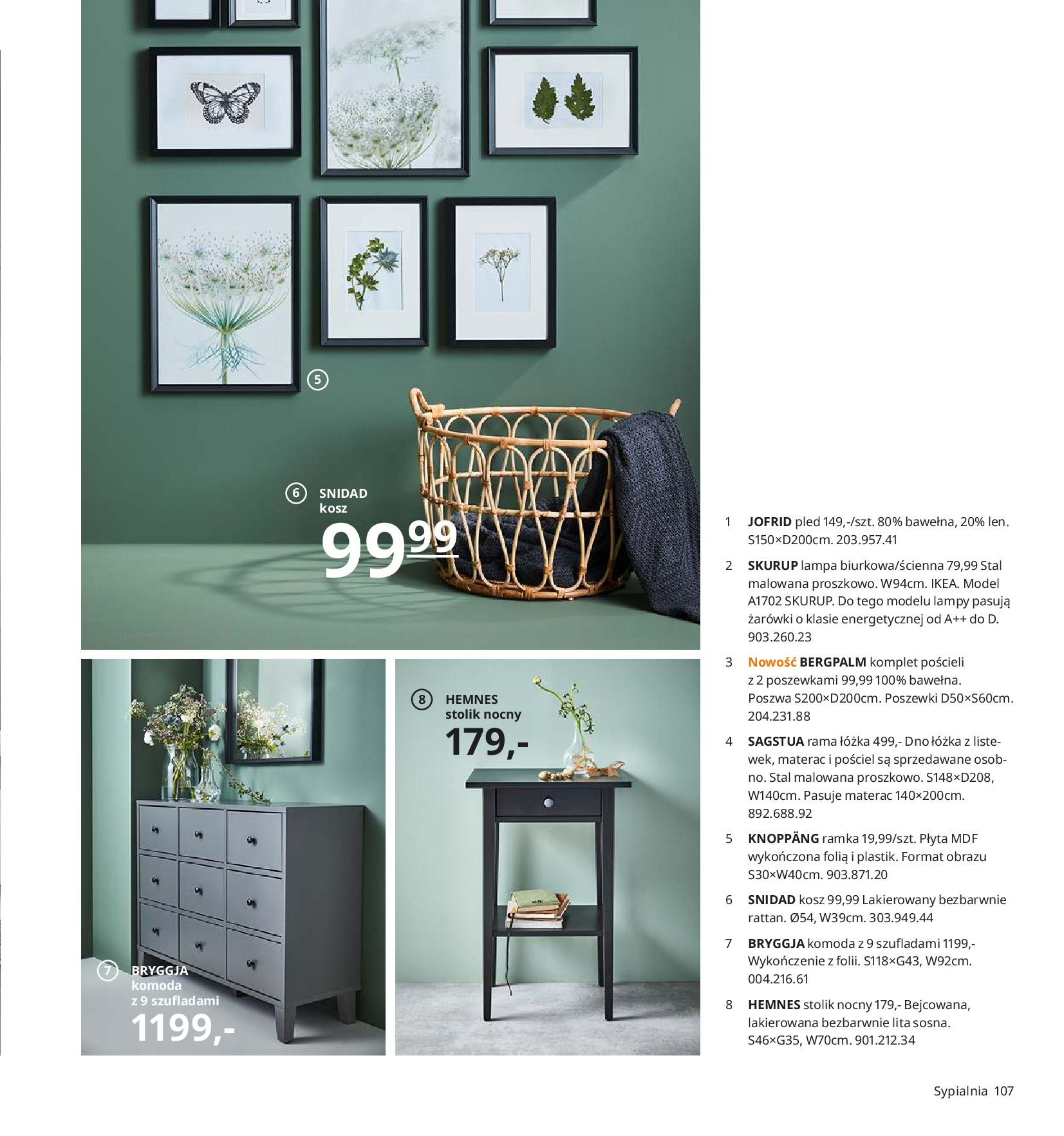 Gazetka IKEA - Katalog IKEA 2020-25.08.2019-31.07.2020-page-107