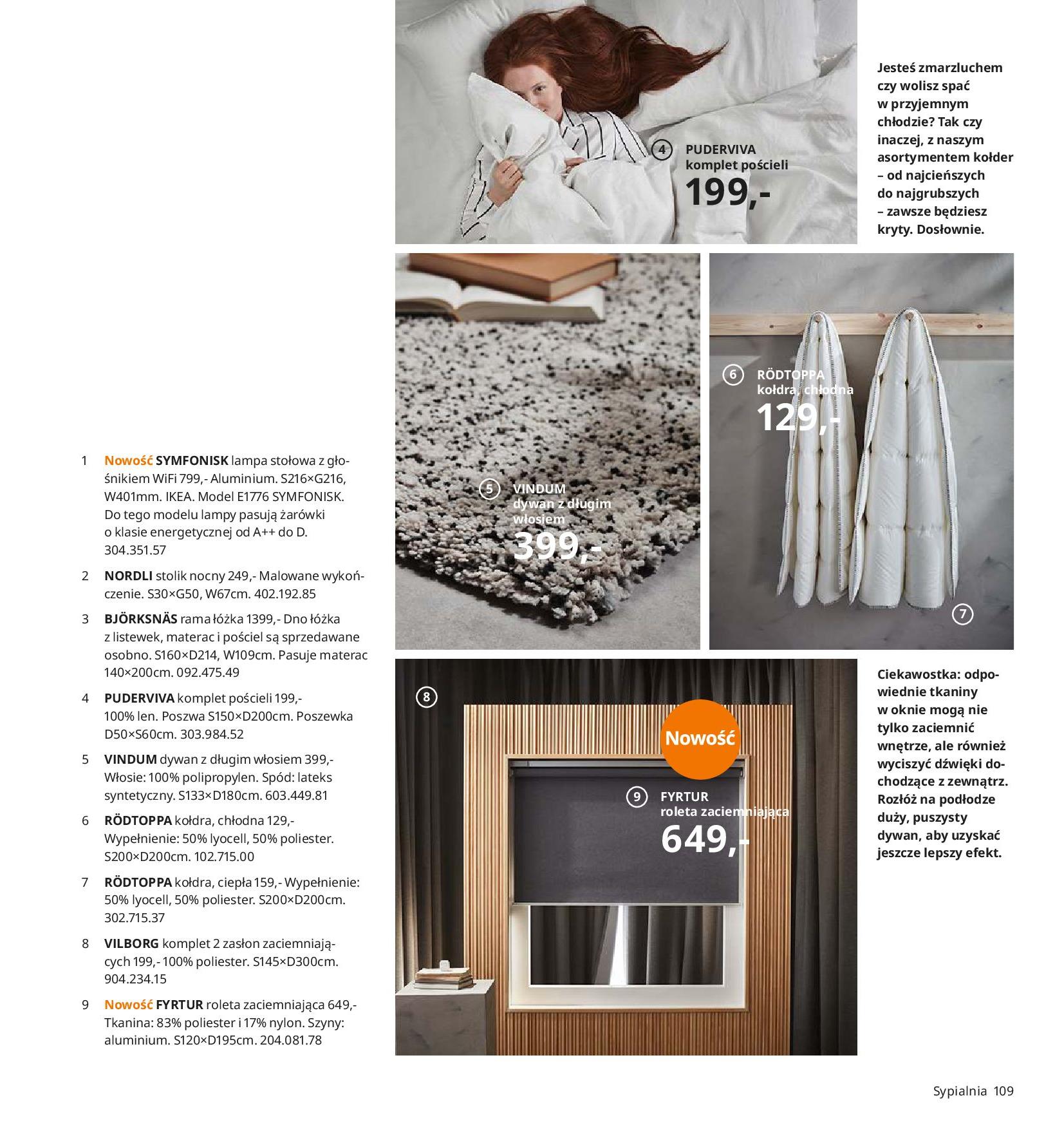Gazetka IKEA - Katalog IKEA 2020-25.08.2019-31.07.2020-page-109