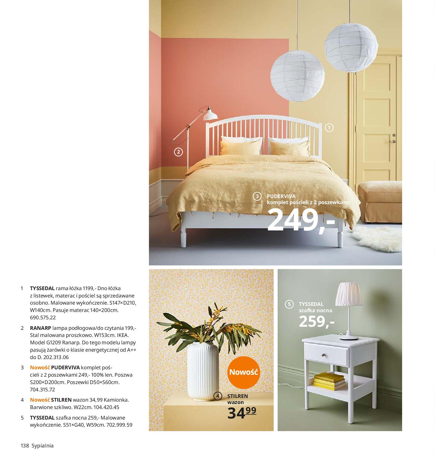 Gazetka IKEA - Katalog IKEA 2020-25.08.2019-31.07.2020-page-138