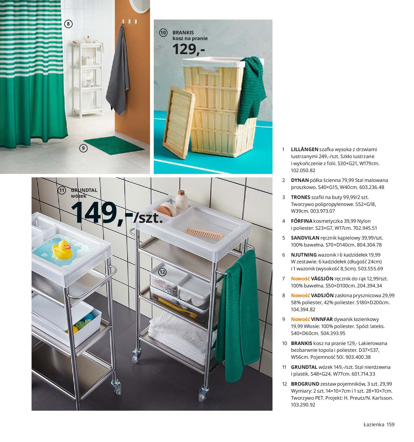 Gazetka IKEA - Katalog IKEA 2020-25.08.2019-31.07.2020-page-159