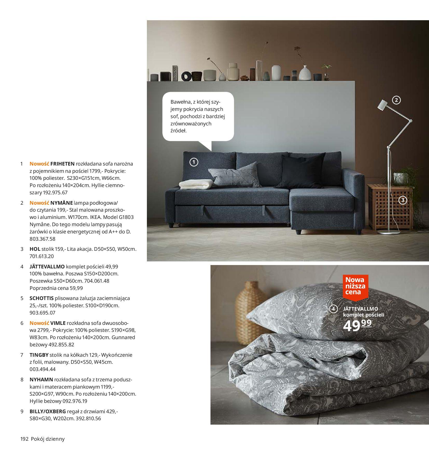 Gazetka IKEA - Katalog IKEA 2020-25.08.2019-31.07.2020-page-192