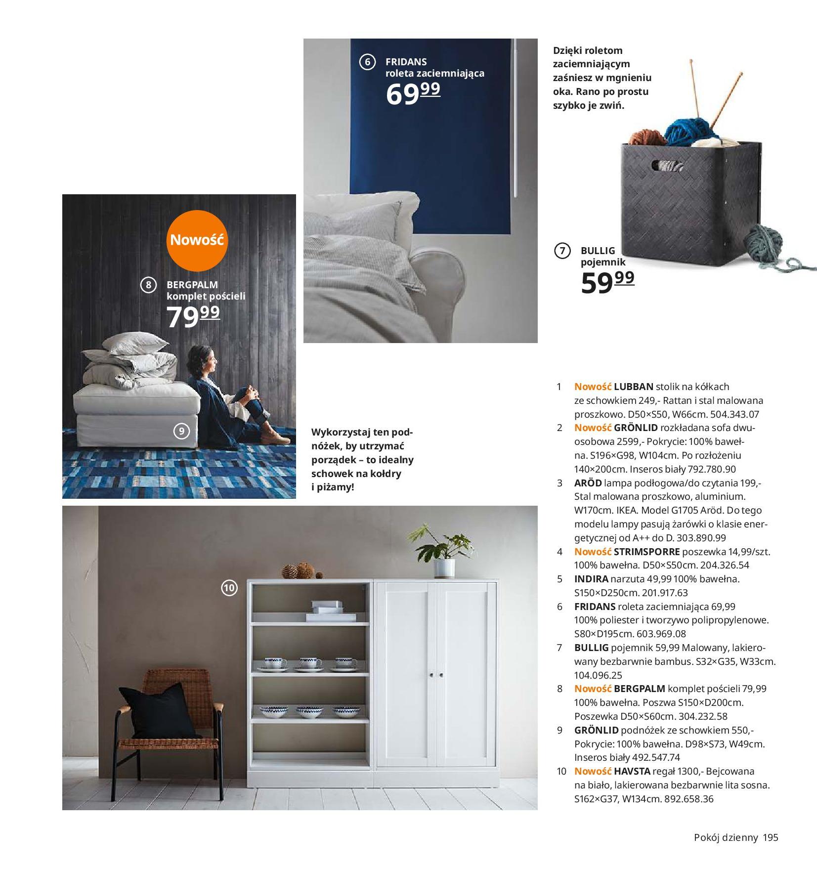 Gazetka IKEA - Katalog IKEA 2020-25.08.2019-31.07.2020-page-195