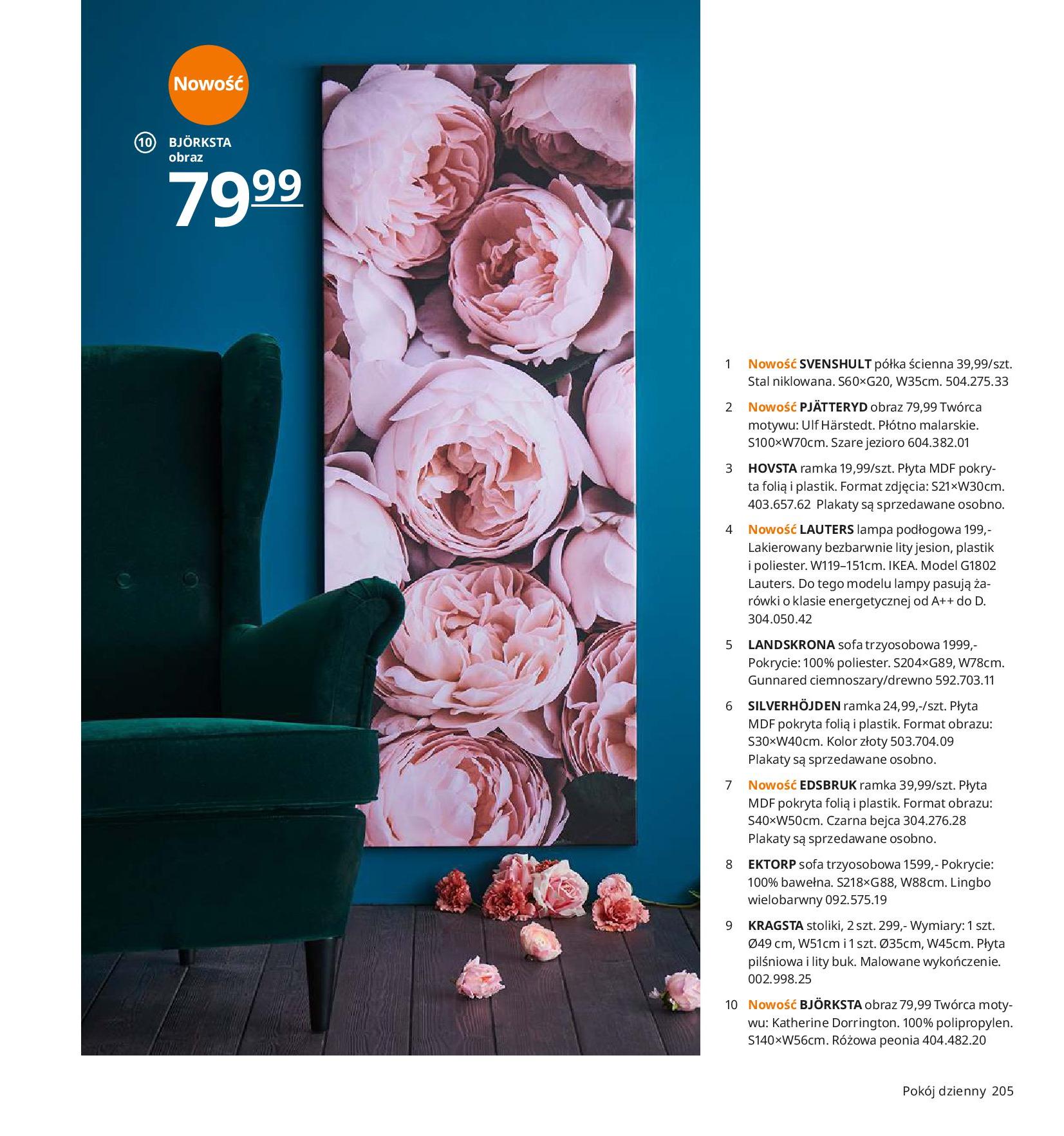 Gazetka IKEA - Katalog IKEA 2020-25.08.2019-31.07.2020-page-205