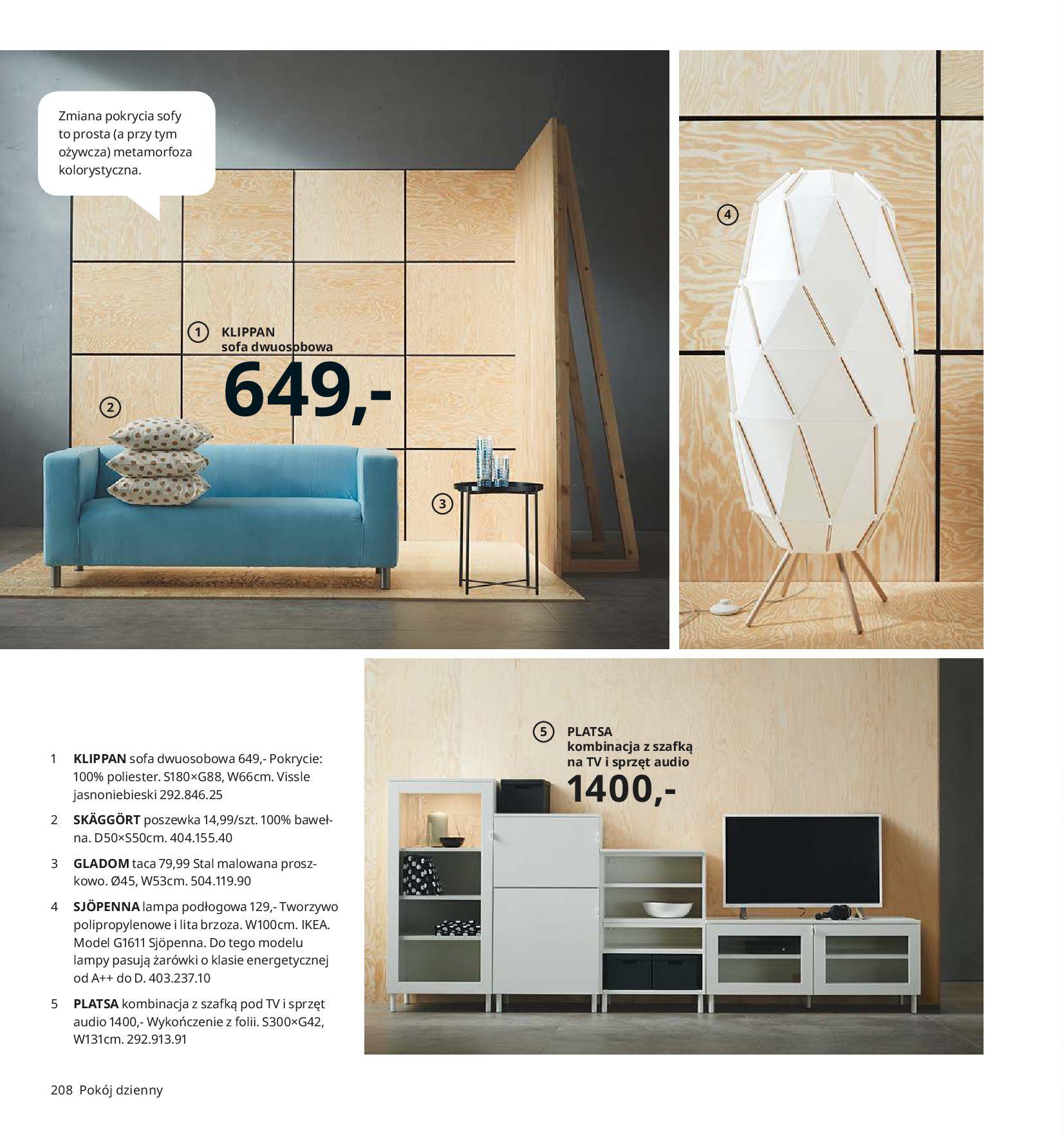 Gazetka IKEA - Katalog IKEA 2020-25.08.2019-31.07.2020-page-208