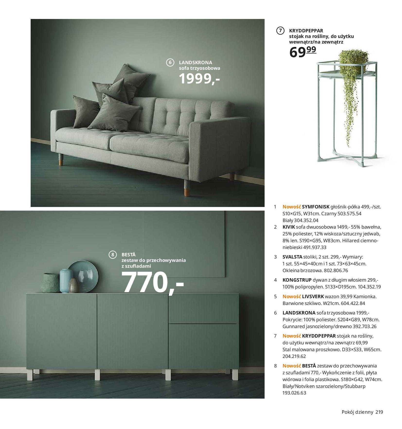 Gazetka IKEA - Katalog IKEA 2020-25.08.2019-31.07.2020-page-219