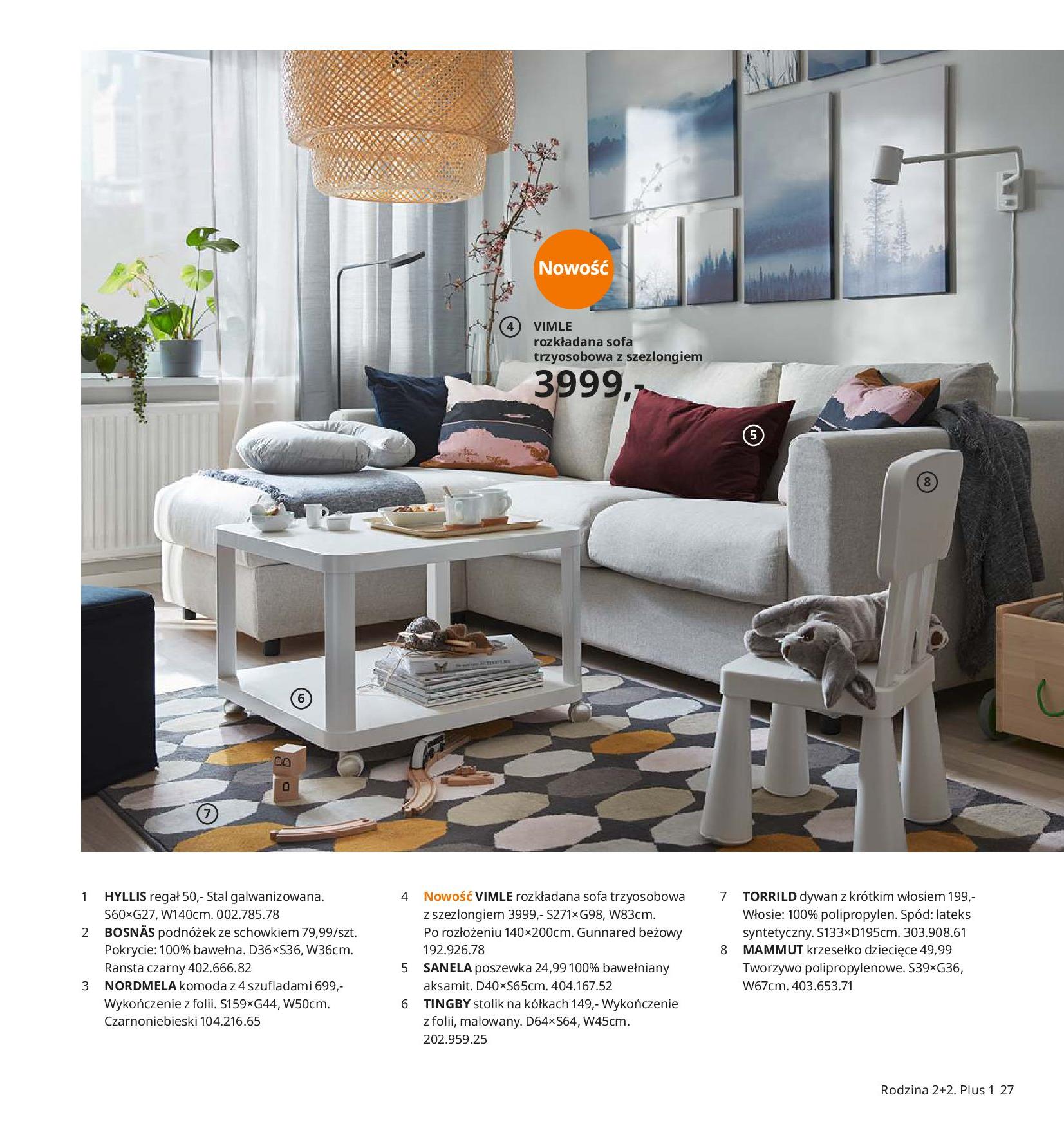 Gazetka IKEA - Katalog IKEA 2020-25.08.2019-31.07.2020-page-27