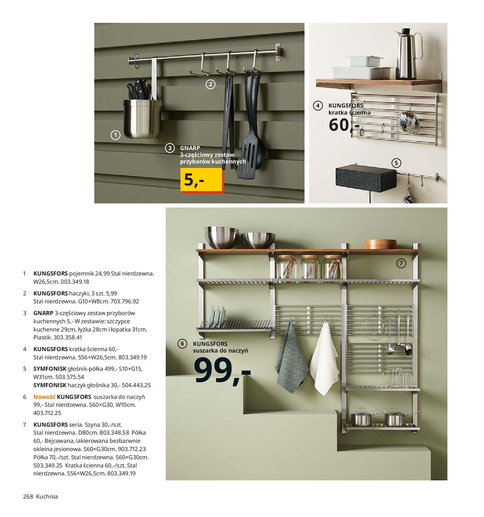 Gazetka IKEA - Katalog IKEA 2020-25.08.2019-31.07.2020-page-268