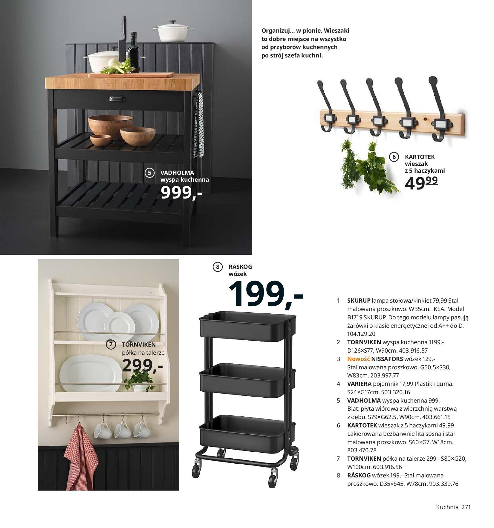 Gazetka IKEA - Katalog IKEA 2020-25.08.2019-31.07.2020-page-271