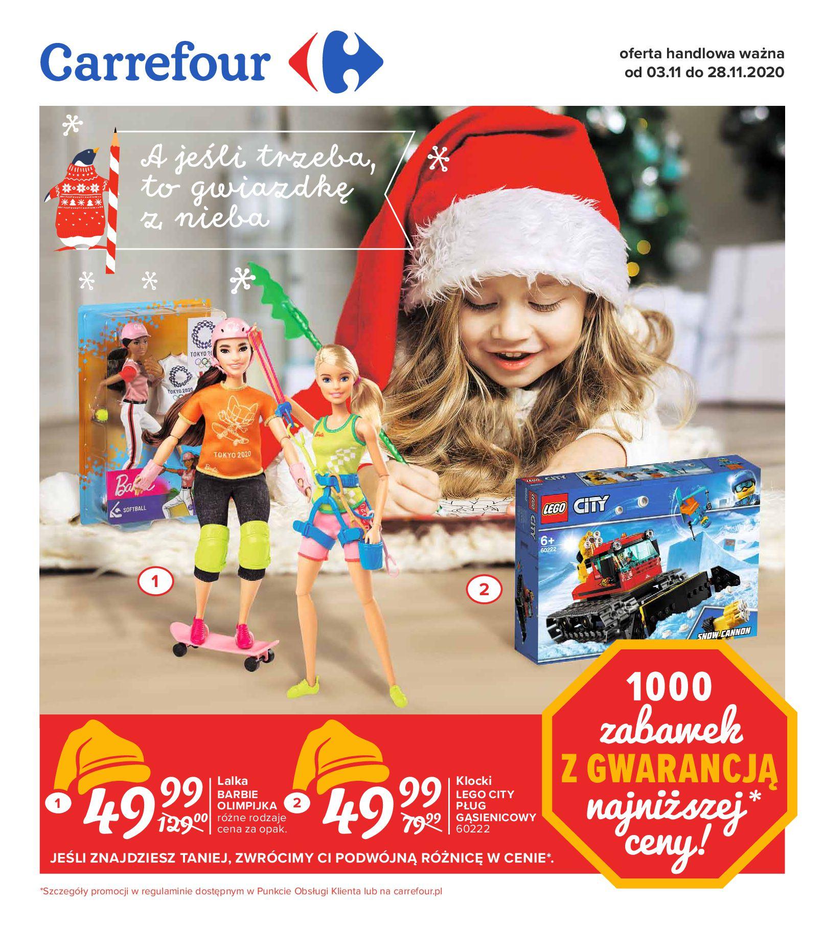 Carrefour:  A jeśli trzeba to gwiazdkę z nieba od 03.11 02.11.2020