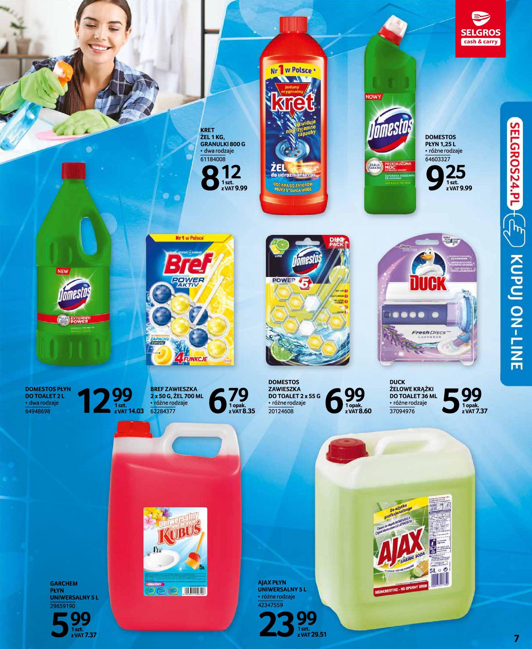 Gazetka Selgros: Katalog Sprzątanie 2020-11-19 page-7