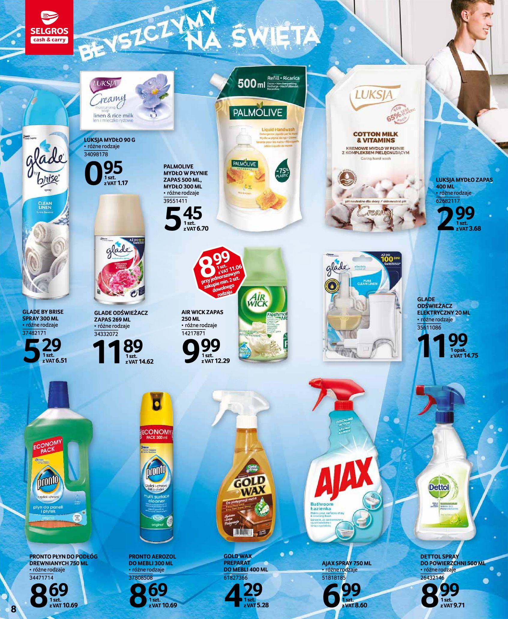 Gazetka Selgros: Katalog Sprzątanie 2020-11-19 page-8