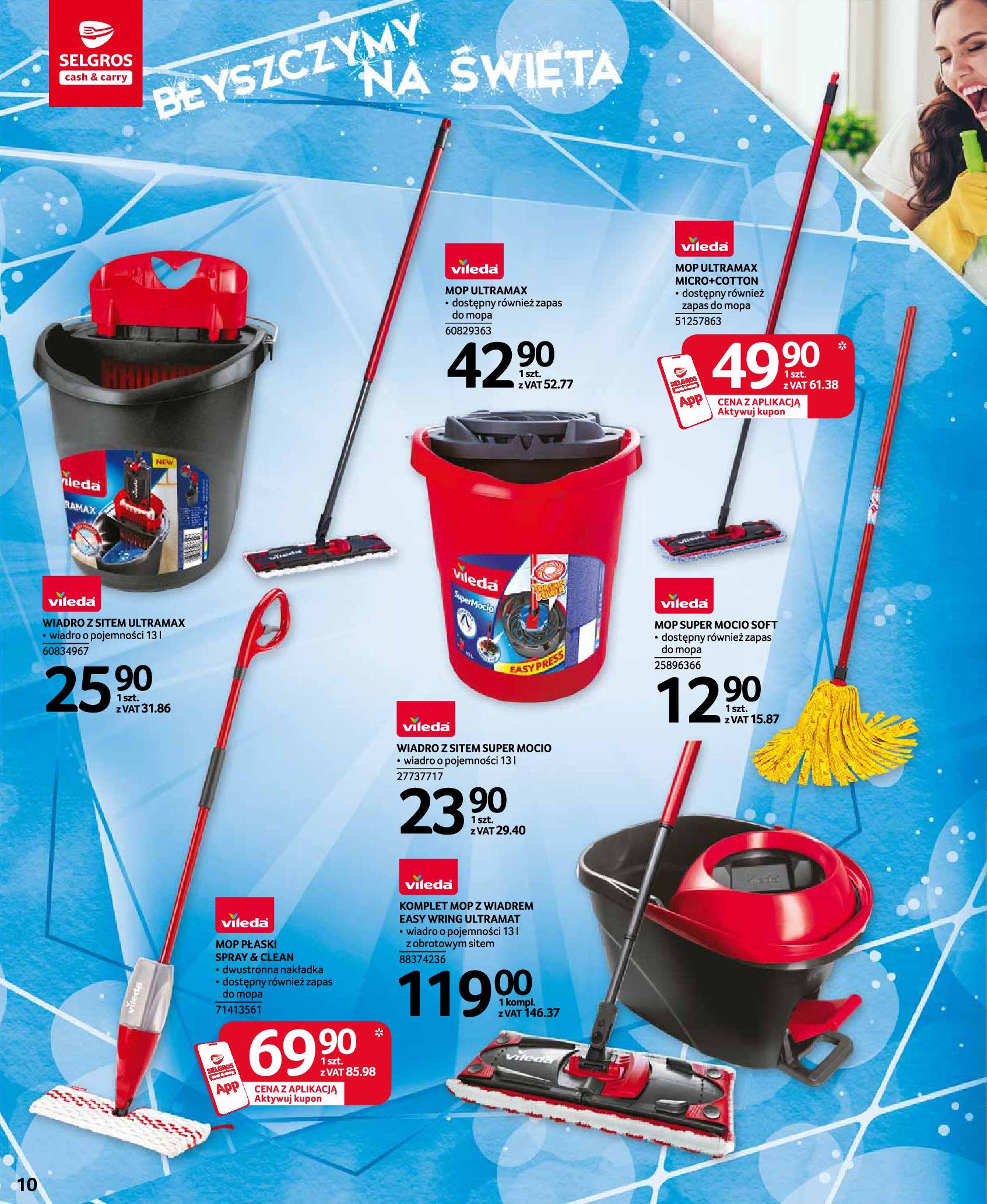 Gazetka Selgros: Katalog Sprzątanie 2020-11-19 page-10