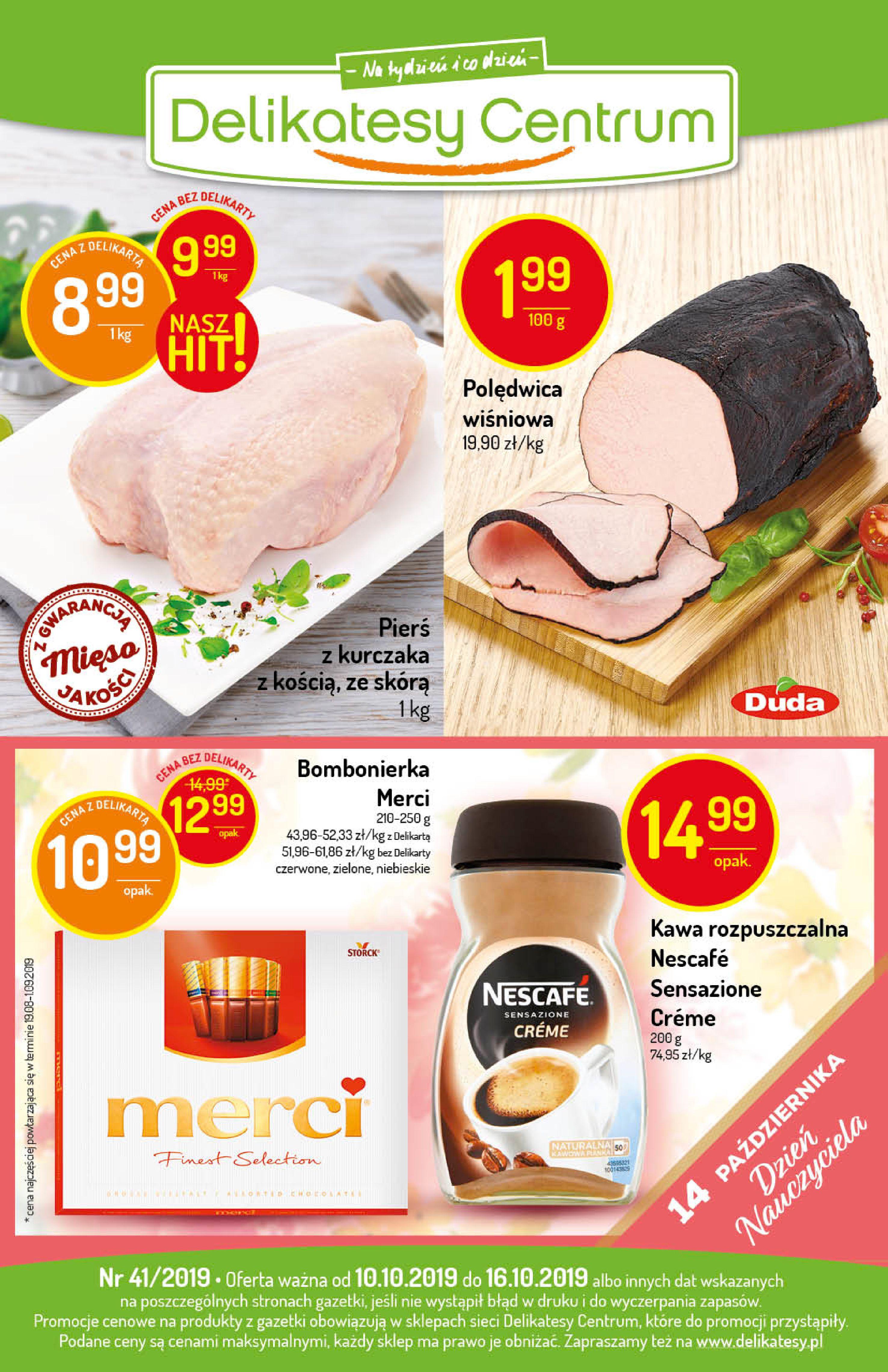 Gazetka Delikatesy Centrum - Oferta na art. spożywcze i kosmetyki-09.10.2019-16.10.2019-page-24