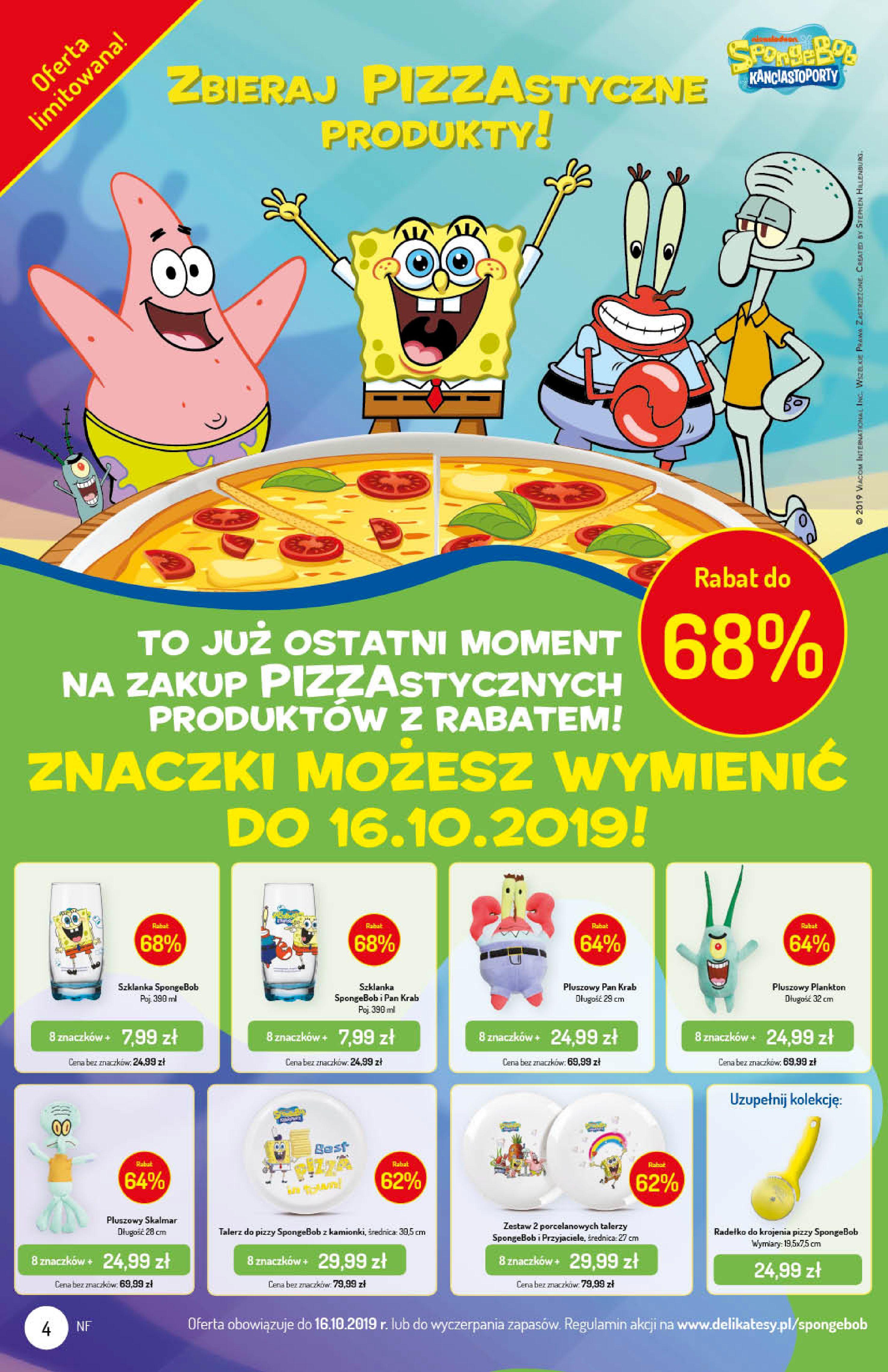 Gazetka Delikatesy Centrum - Oferta na art. spożywcze i kosmetyki-09.10.2019-16.10.2019-page-4